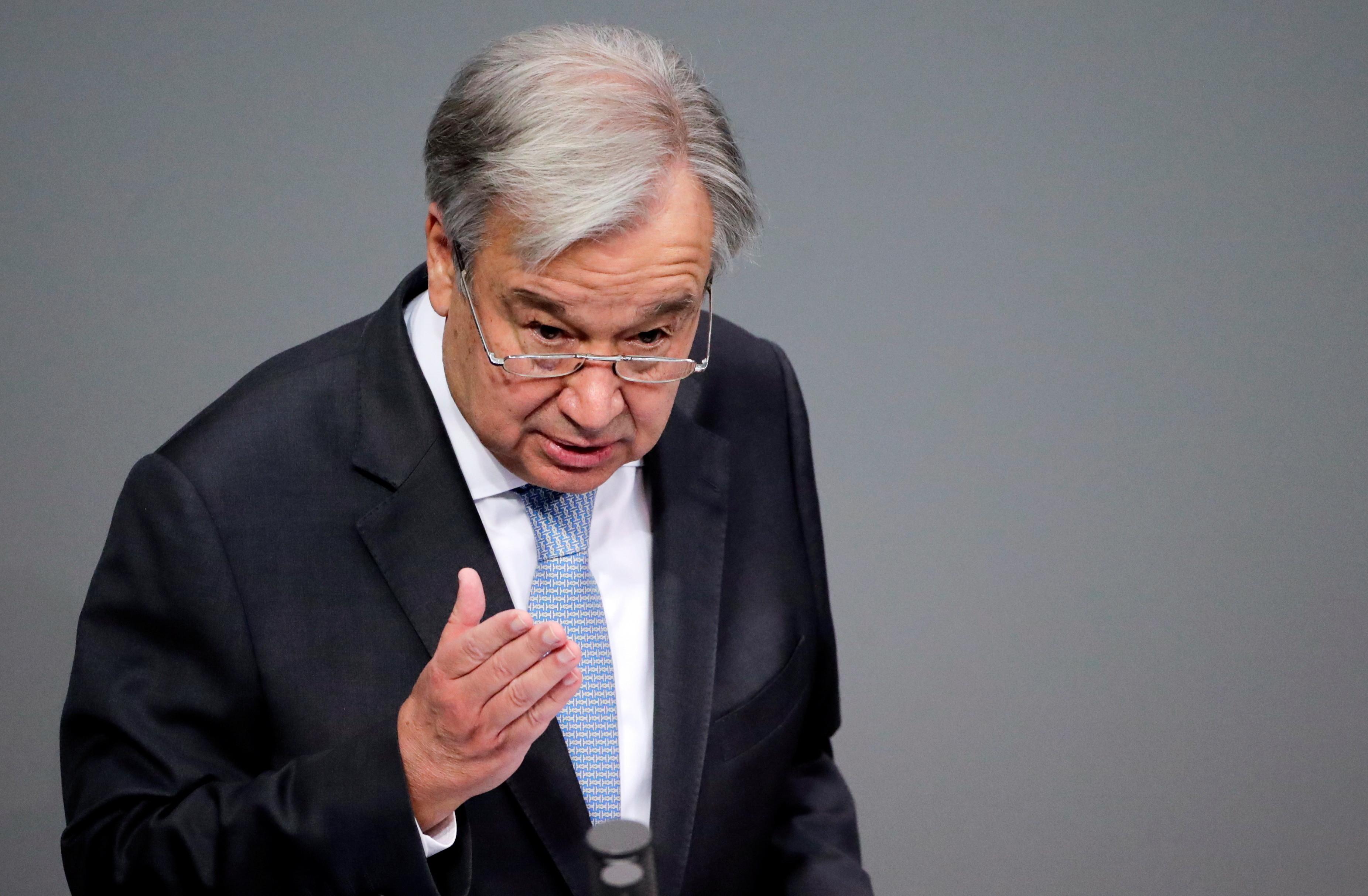 image of united Nations Secretary-General Antonio Guterres