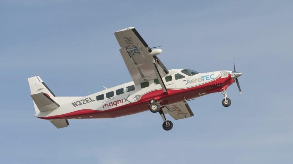 Asi Ha Sido El Primer Vuelo De Un Avion Electrico Para Pasajeros Foro Economico Mundial