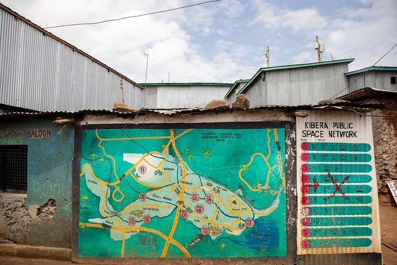 Environment climate change Africa informal settlements community management