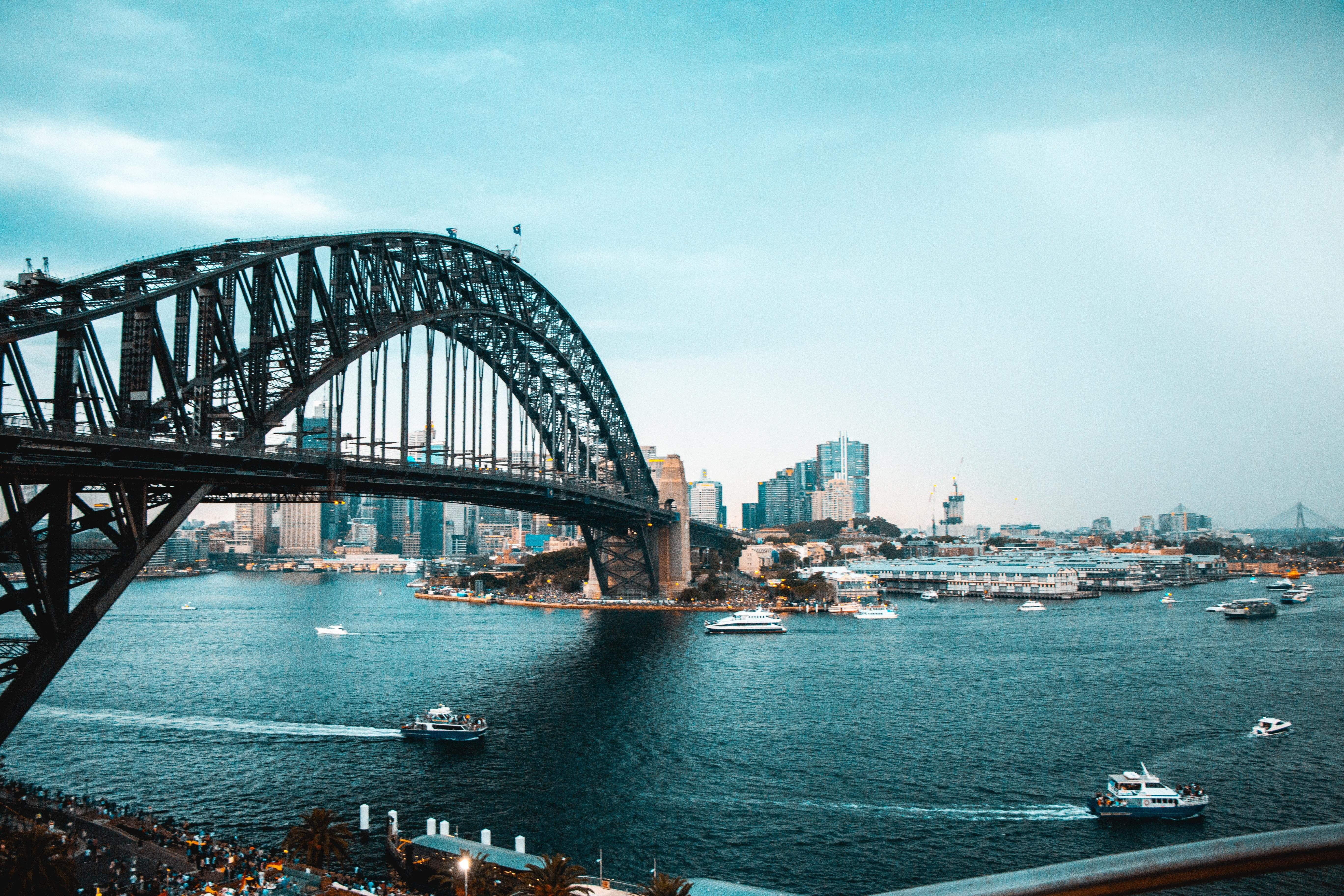parts of Sydney, the city pictured here, are creating initiatives to help city residents manage the rising temperatures due to climate change