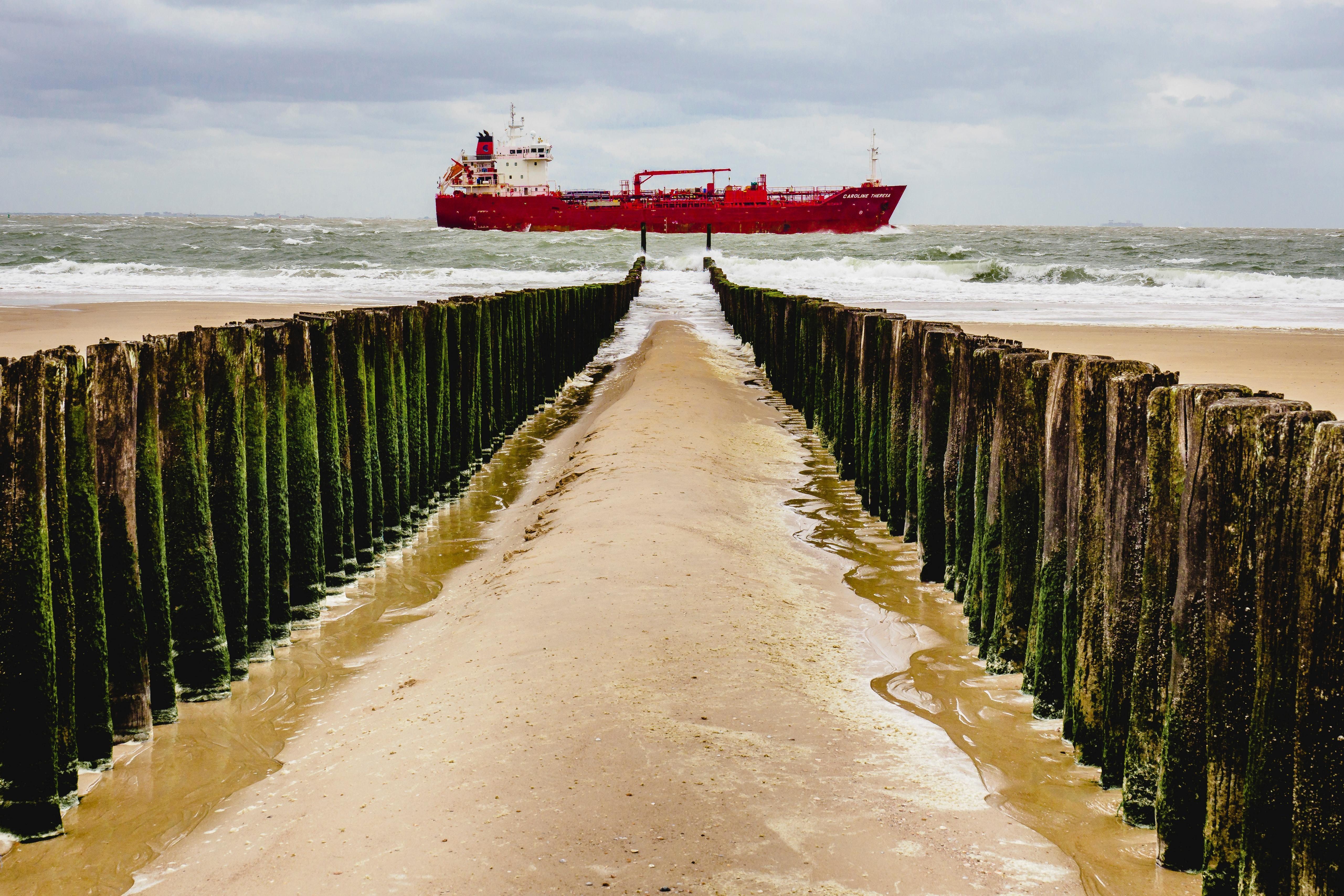 Caroline Theresa Oil/Chemical Tanker Zoutelande, Zeeland, the Netherlands