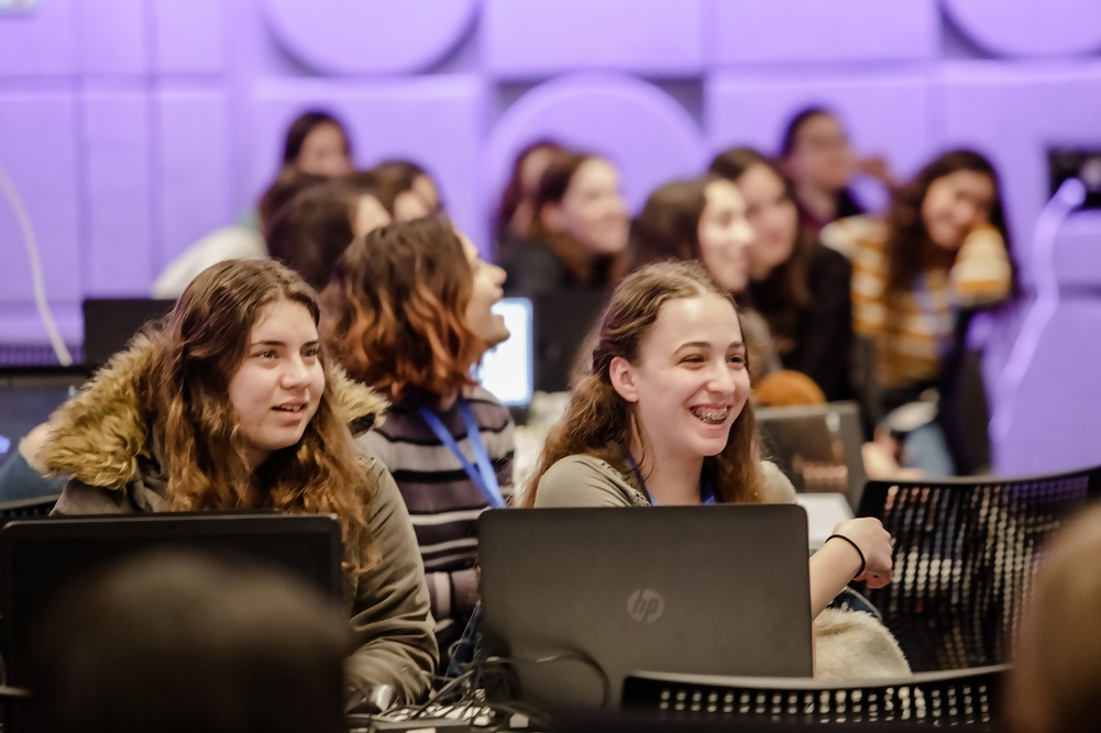 """A """"cyber-club"""" for school-age girls in Israel to learn cybersecurity skills"""