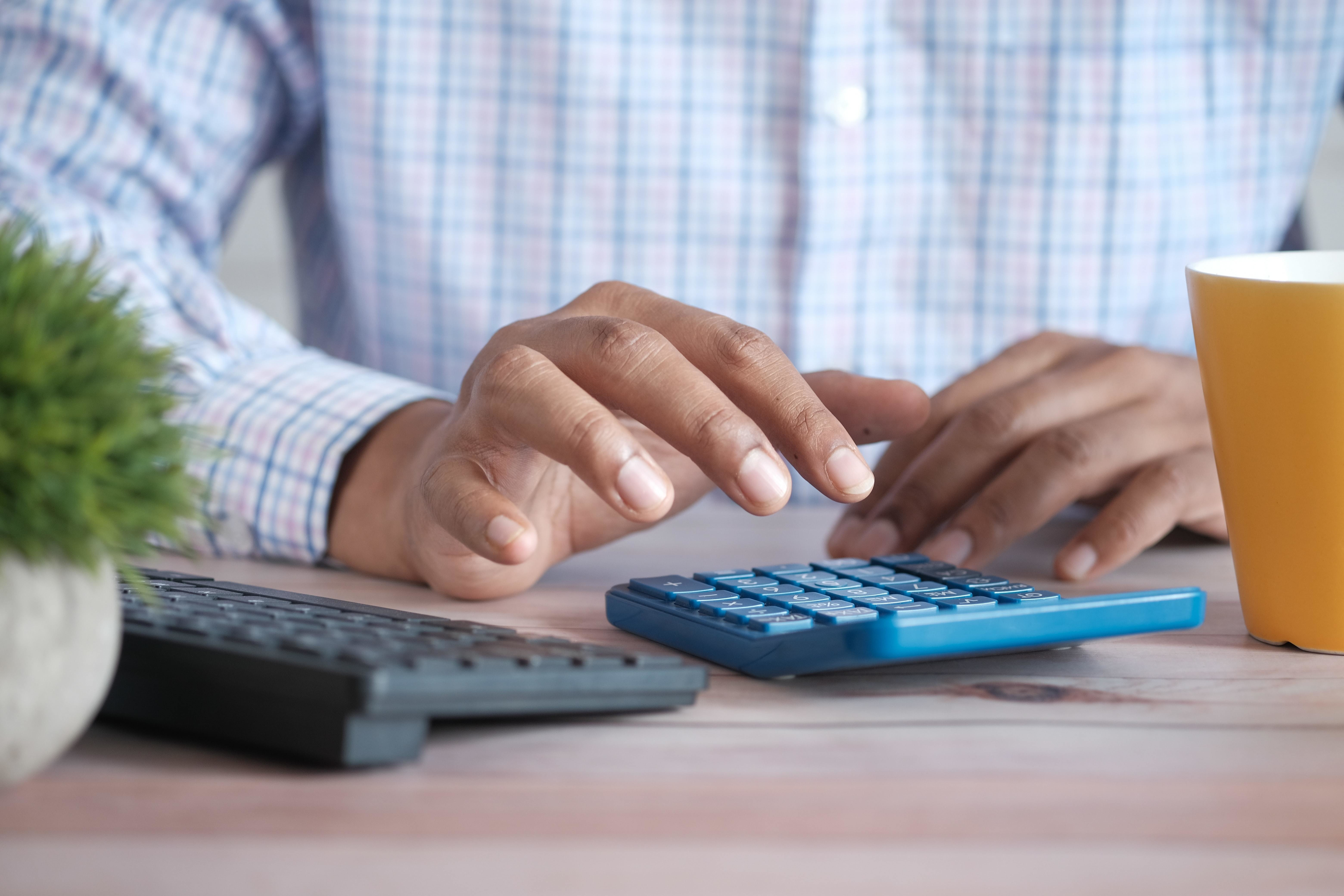 this is someone calculating tax. Countries accounting for 90% of the global economy have agreed to set a minimum corporate tax rate