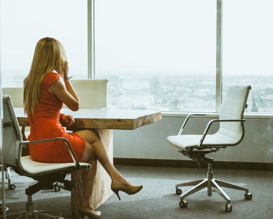 image of a business woman