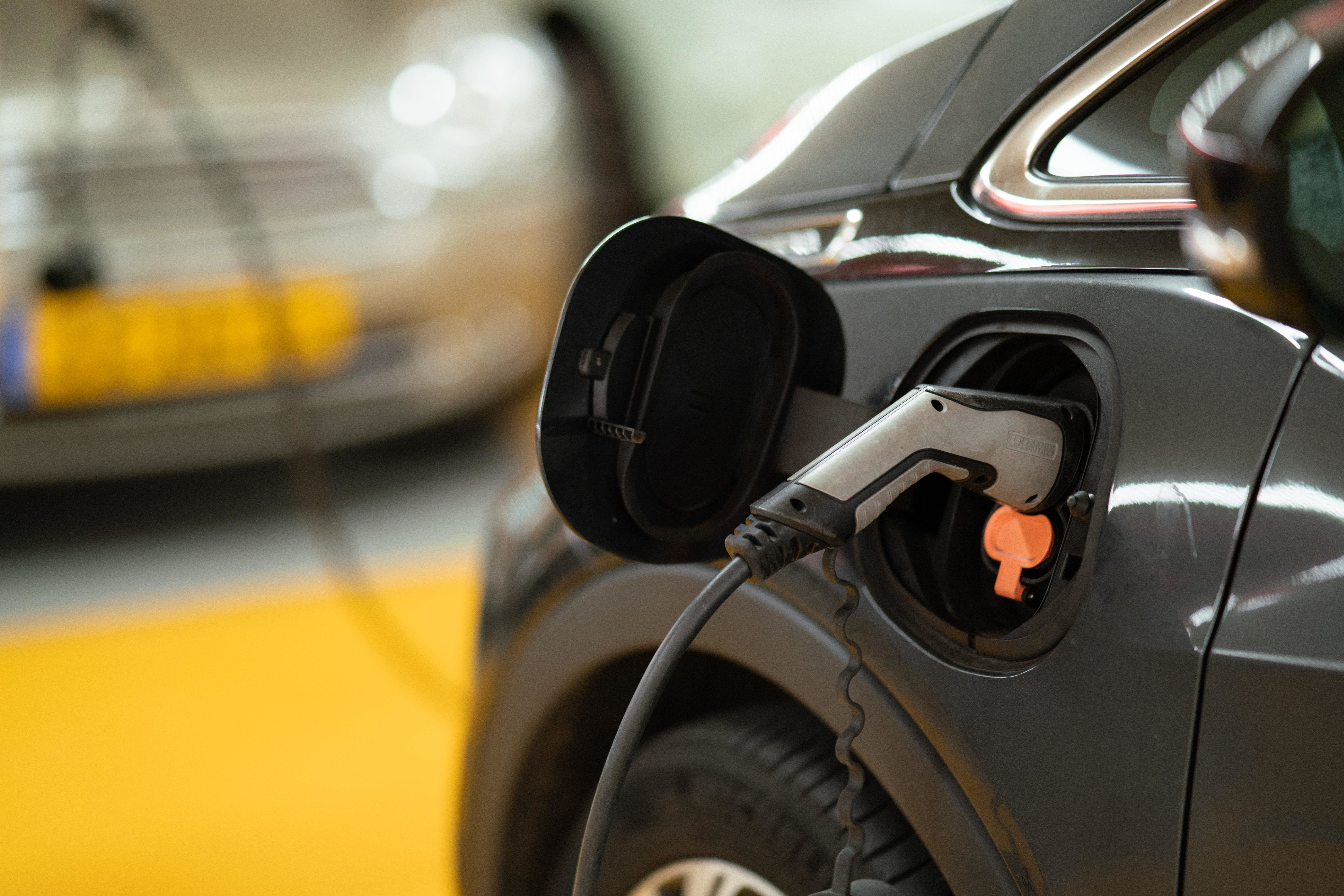 more electric vehicle chargers like this one are needed in the U.S. particularly in rural areas