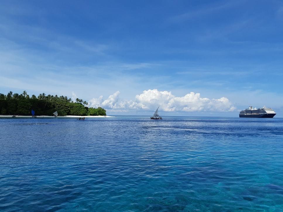 image of a Papua New Guinea island