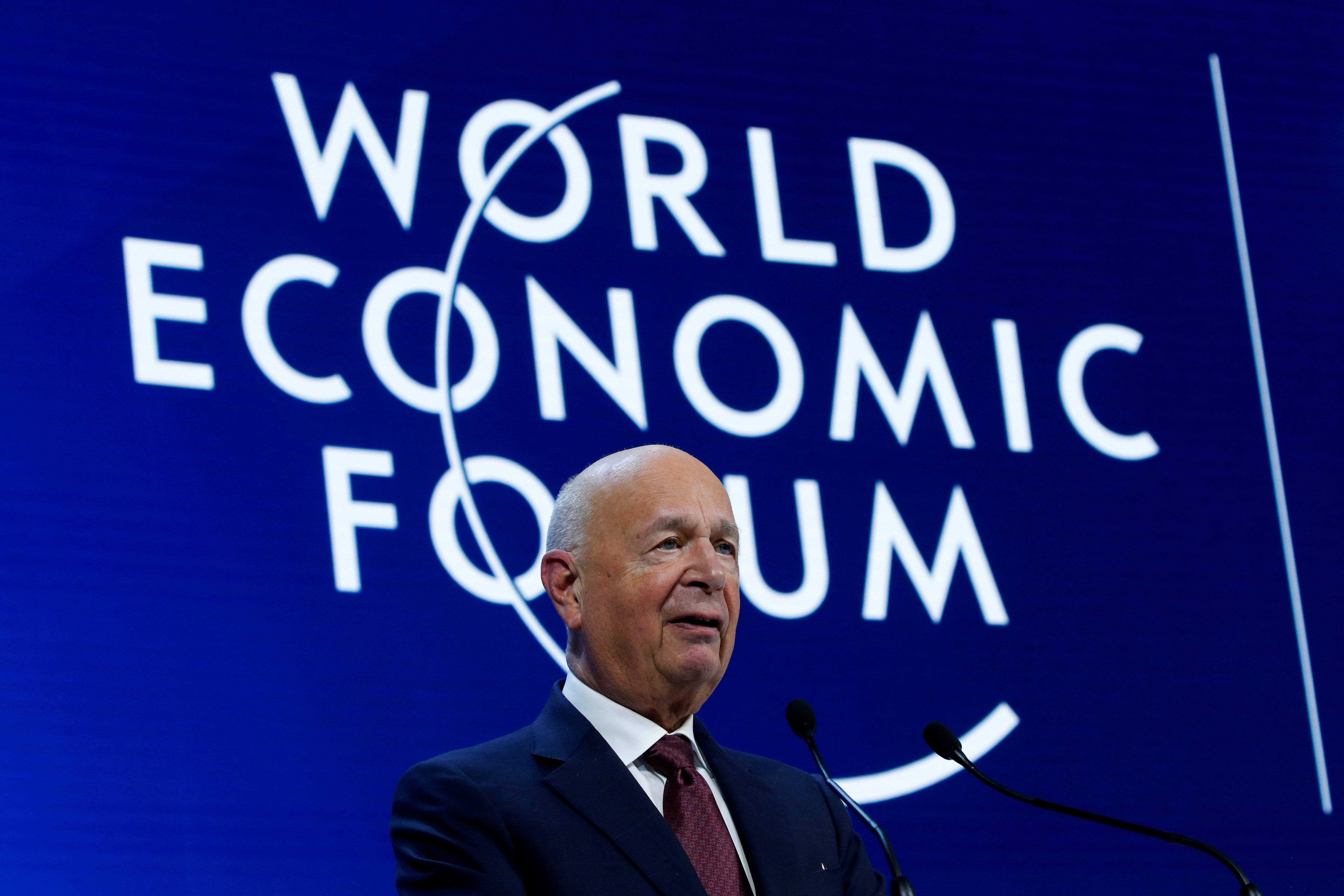 World Economic Forum Founder and Executive Chairman Klaus Schwab calls for a new kind of capitalism