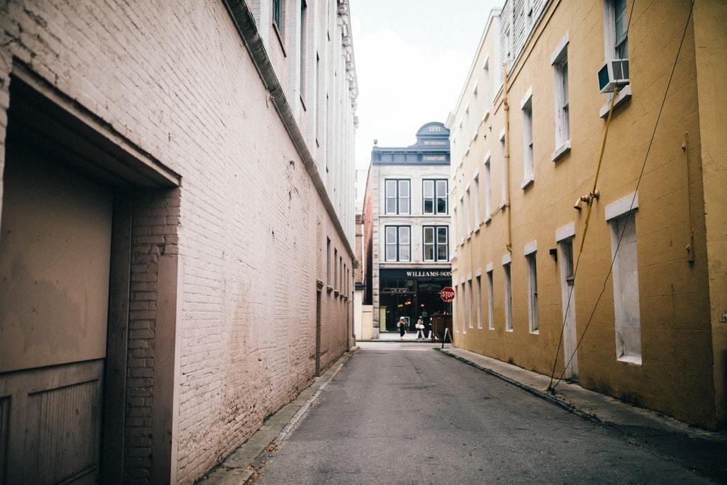 A street in Charleston, United States