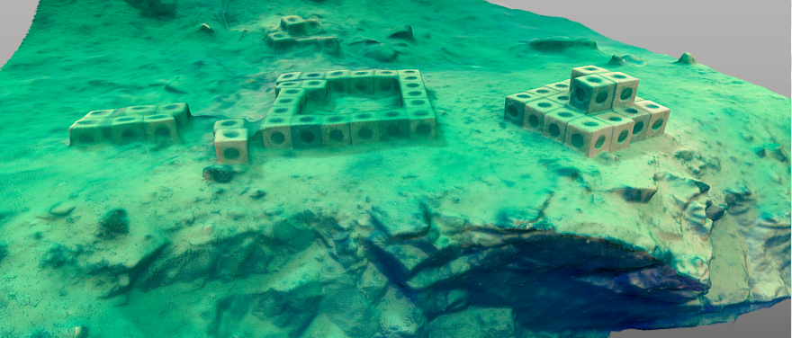 Arc marine artificial reefs