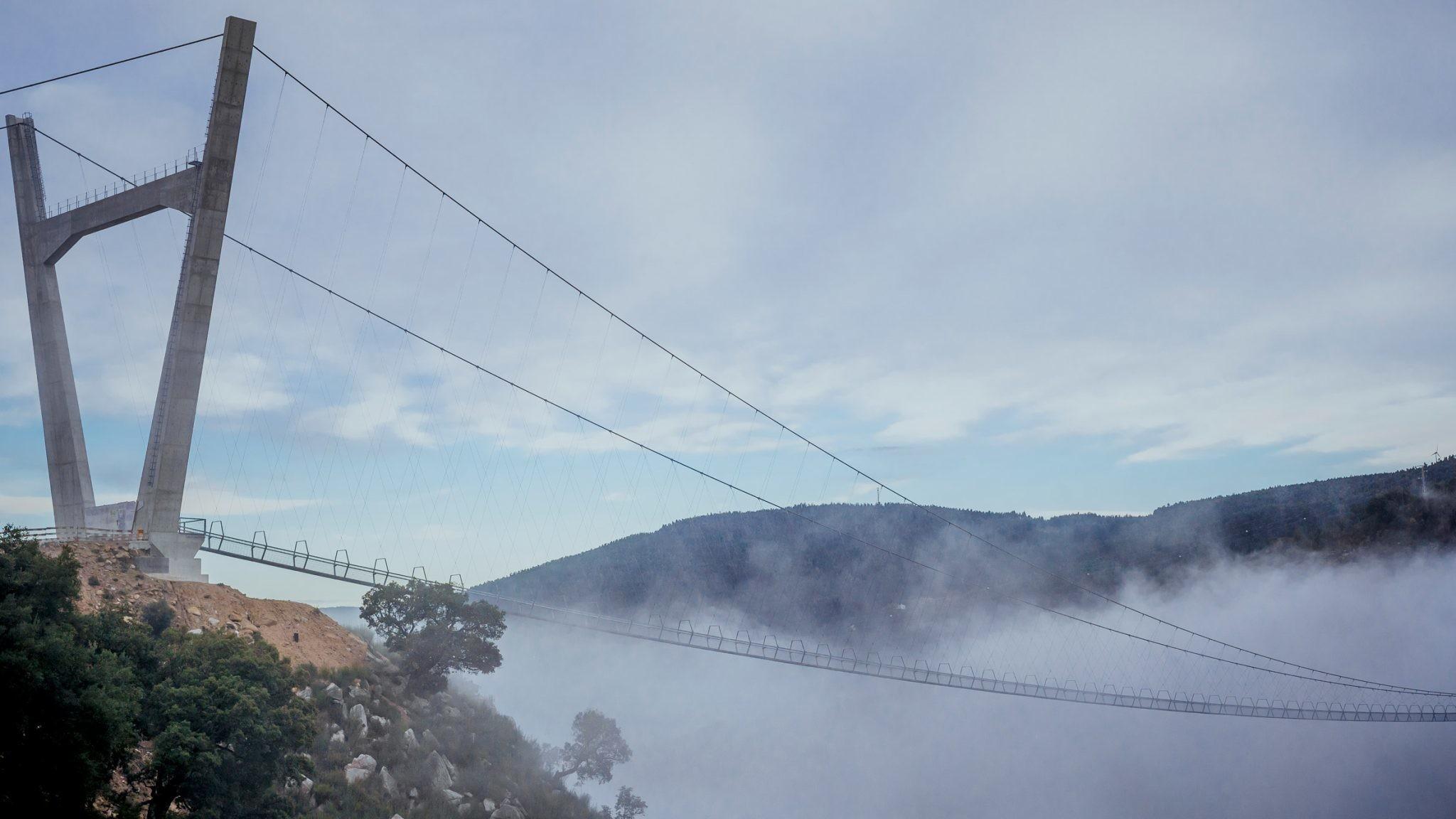 image of the Arouca bridge, northern Portugal