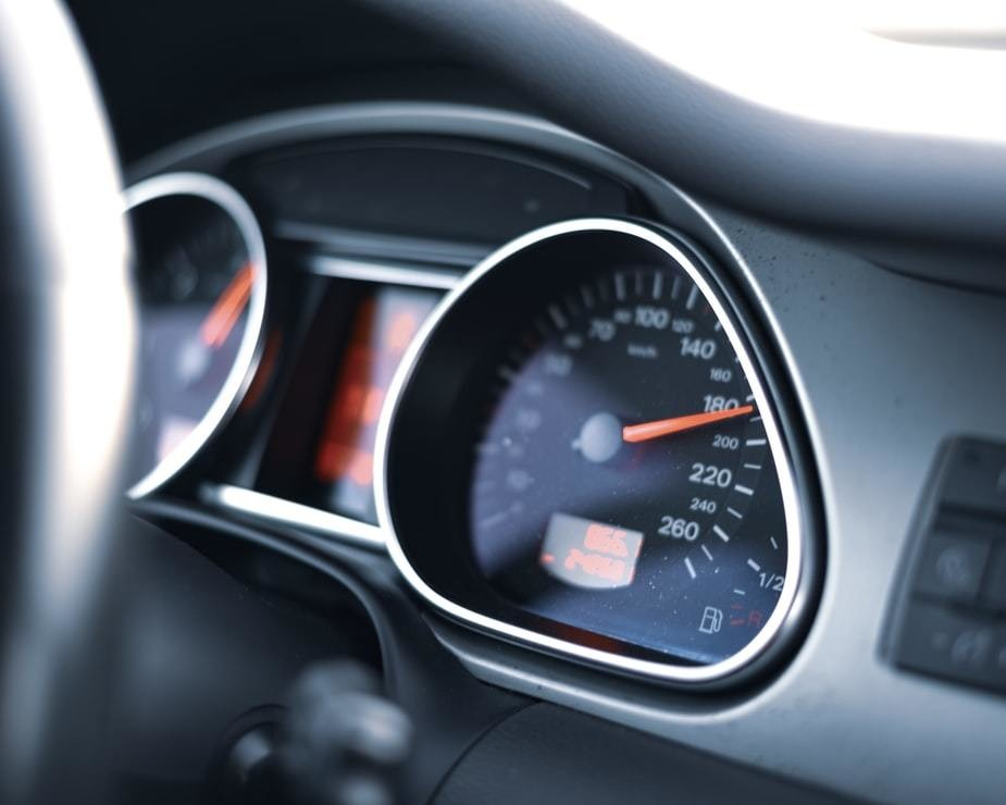 image of a car dashboard