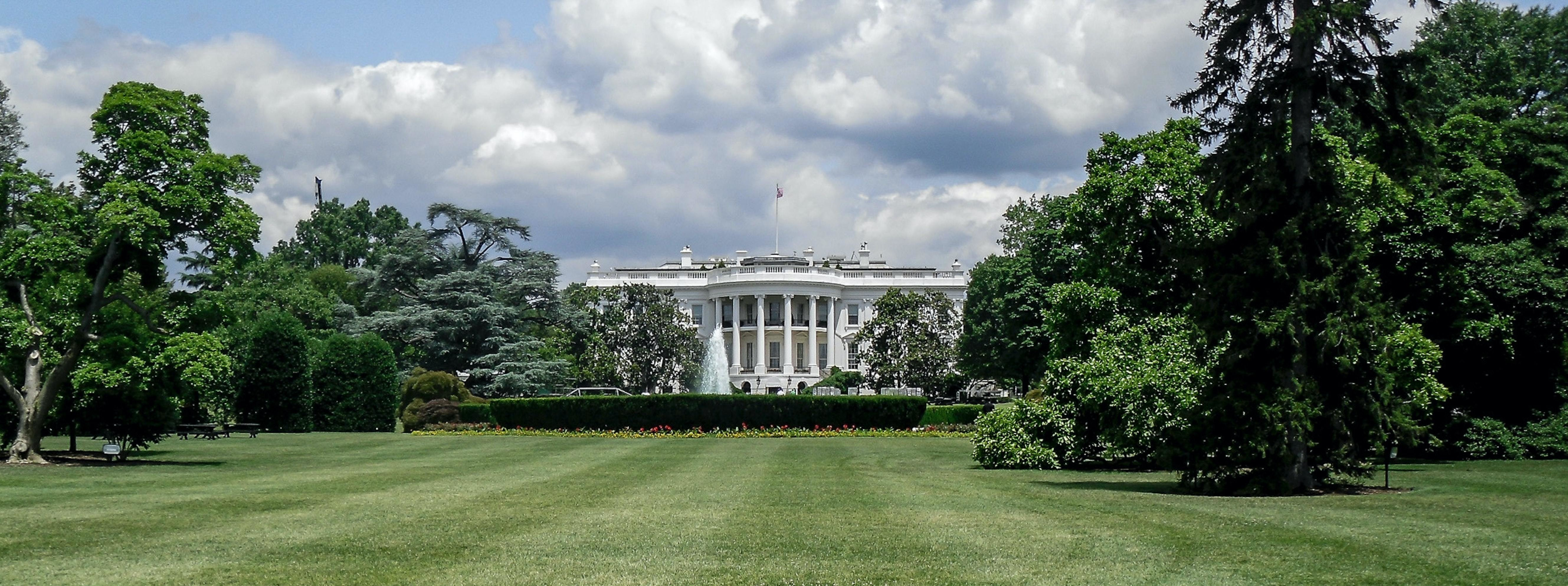 shown here is the White House. a staff member who was working there at the time of 9/11 has shared their experience