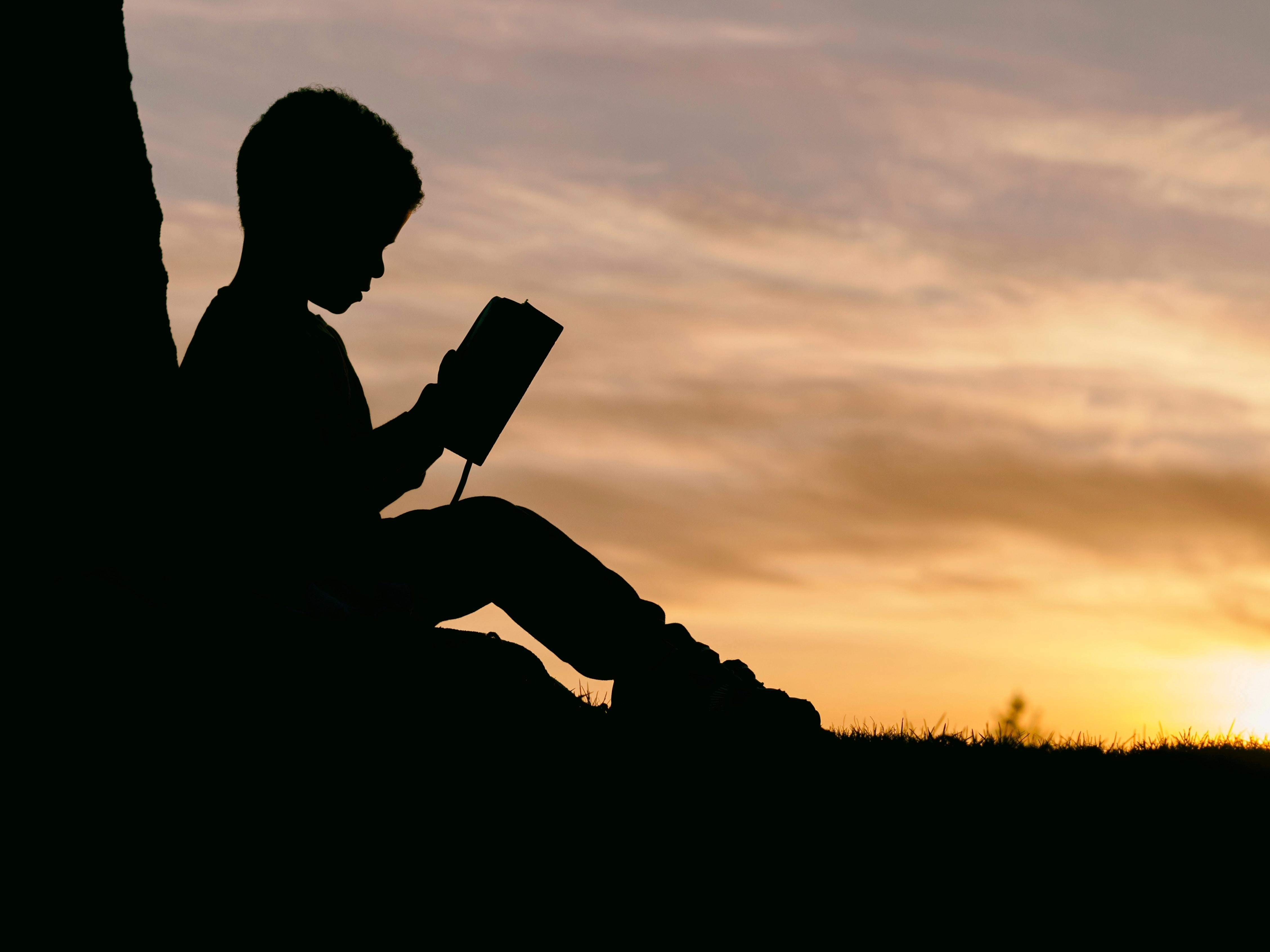 reading, like this child is doing here, is a vital skill needed in order to understand other subjects.