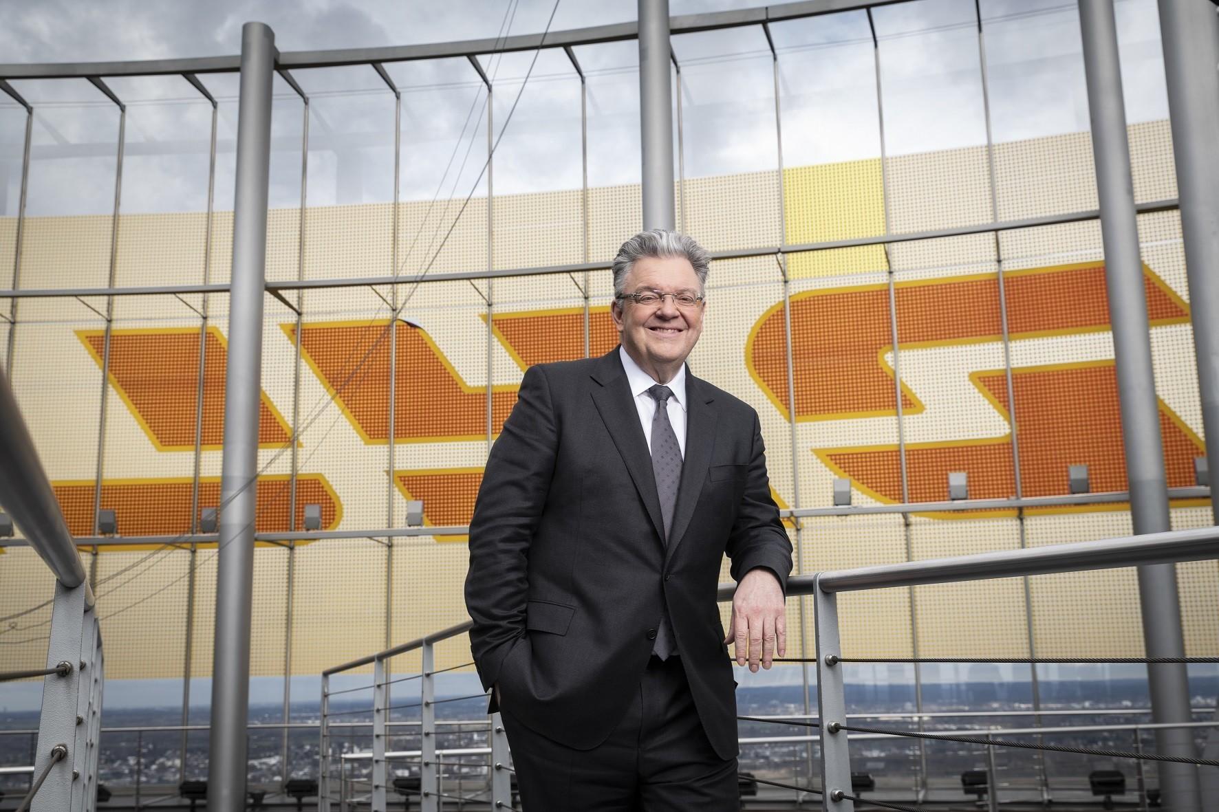 John Pearson, CEO of DHL Express