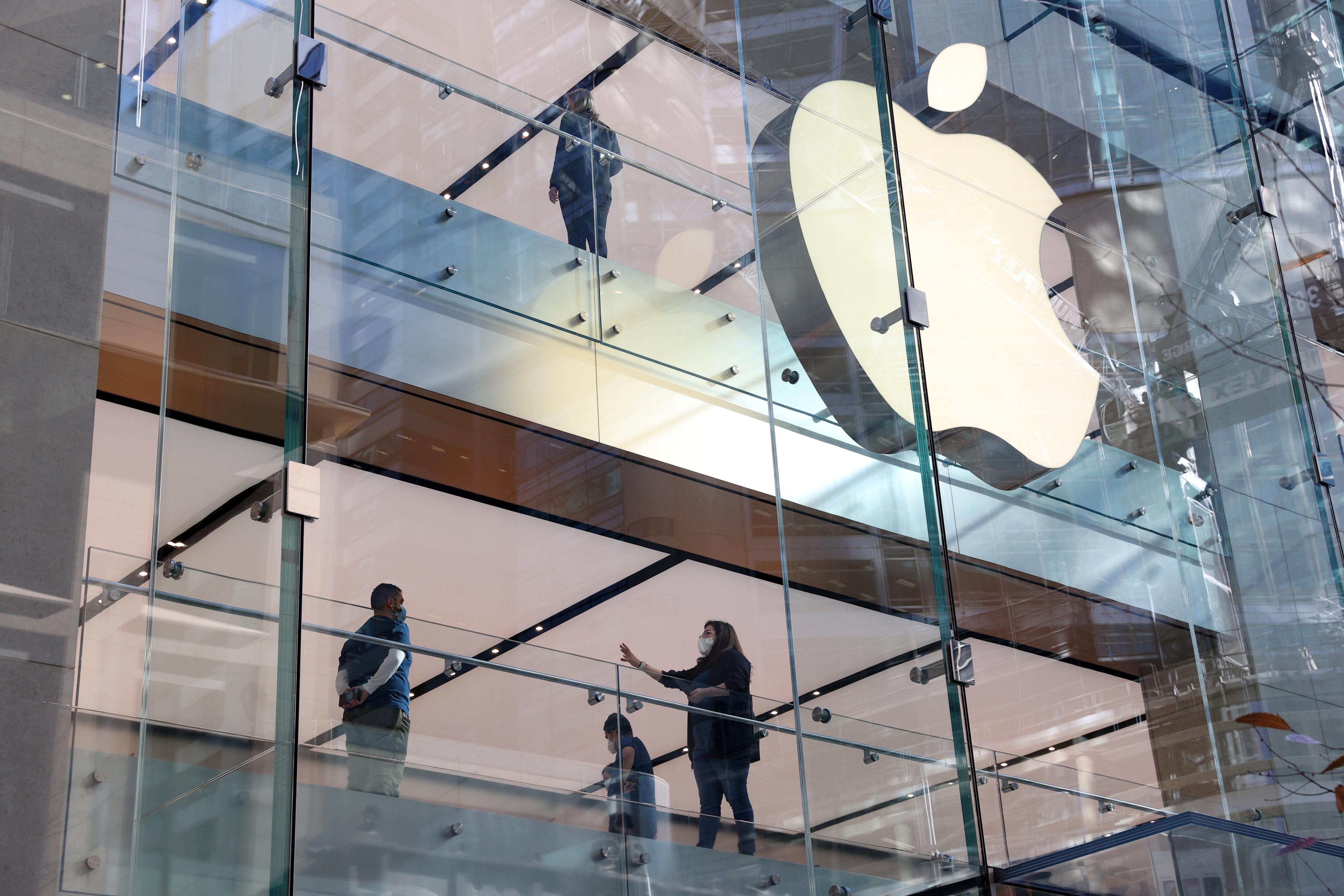 Apple llegó a la cima de los rankings de este año.