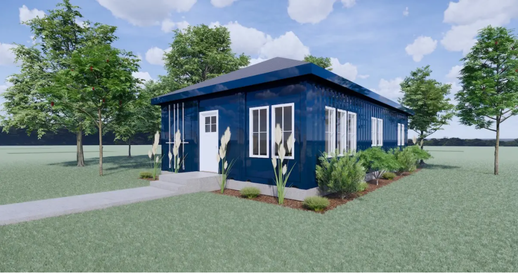 Shipping container tiny homes.