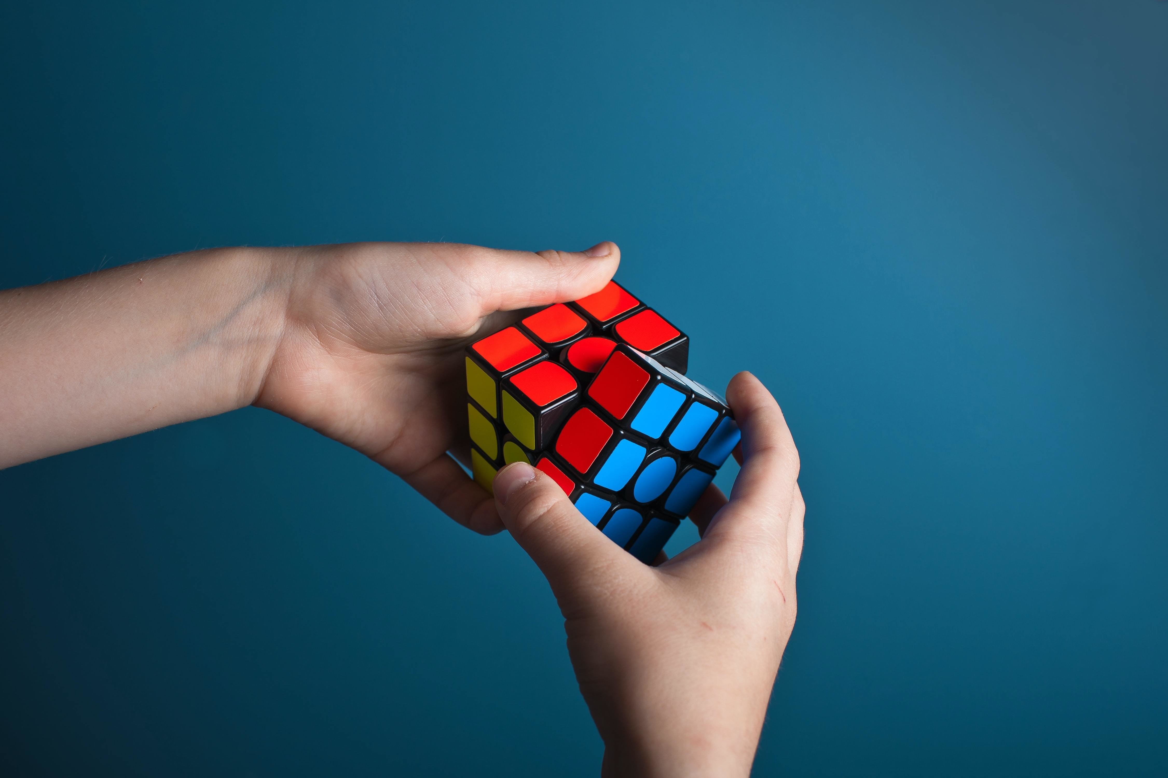 natural capabilities, like this person's ability to solve puzzles, can be fine increased - however, harnessing your raw intelligence requires different cognitive methods