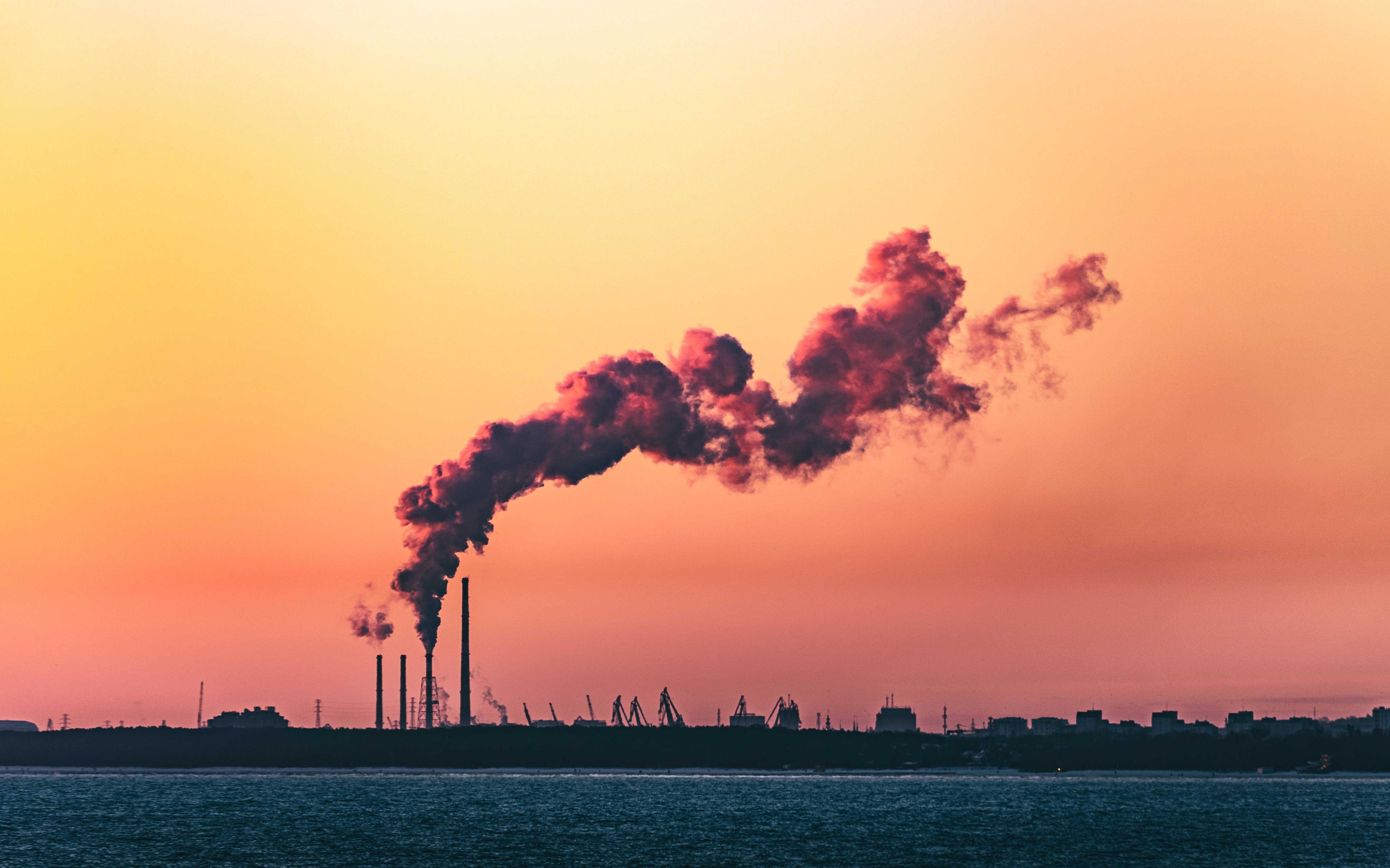 emissions such as the ones coming from this factory are increasing global warming