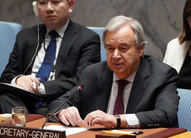 U.N. Secretary-General Antonio Guterres
