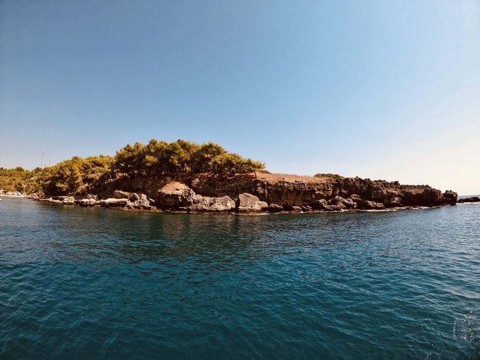 image of the Mediterranean sea