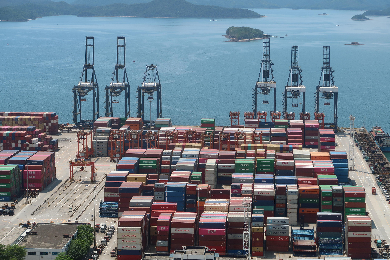 Trade, China, ports, COVID-19