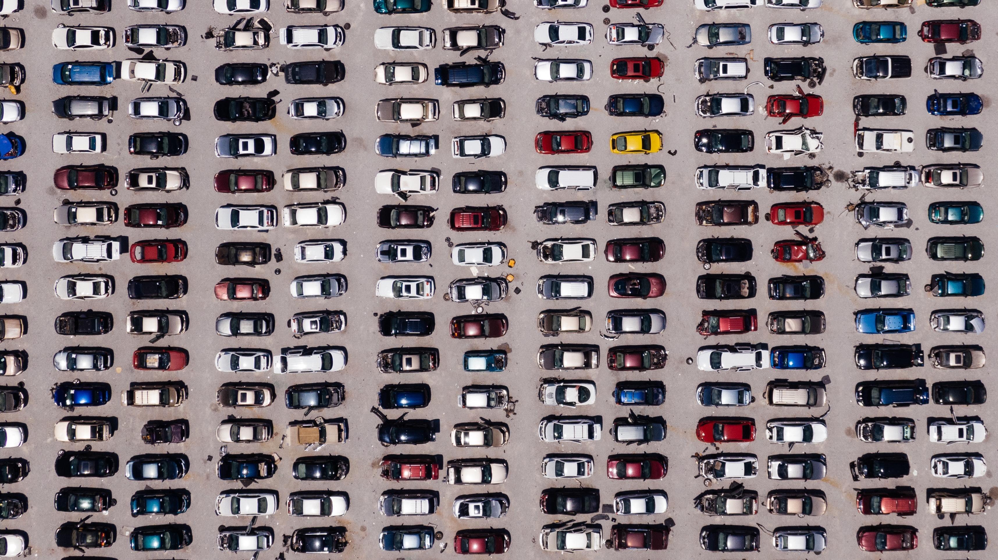A car-parking lot