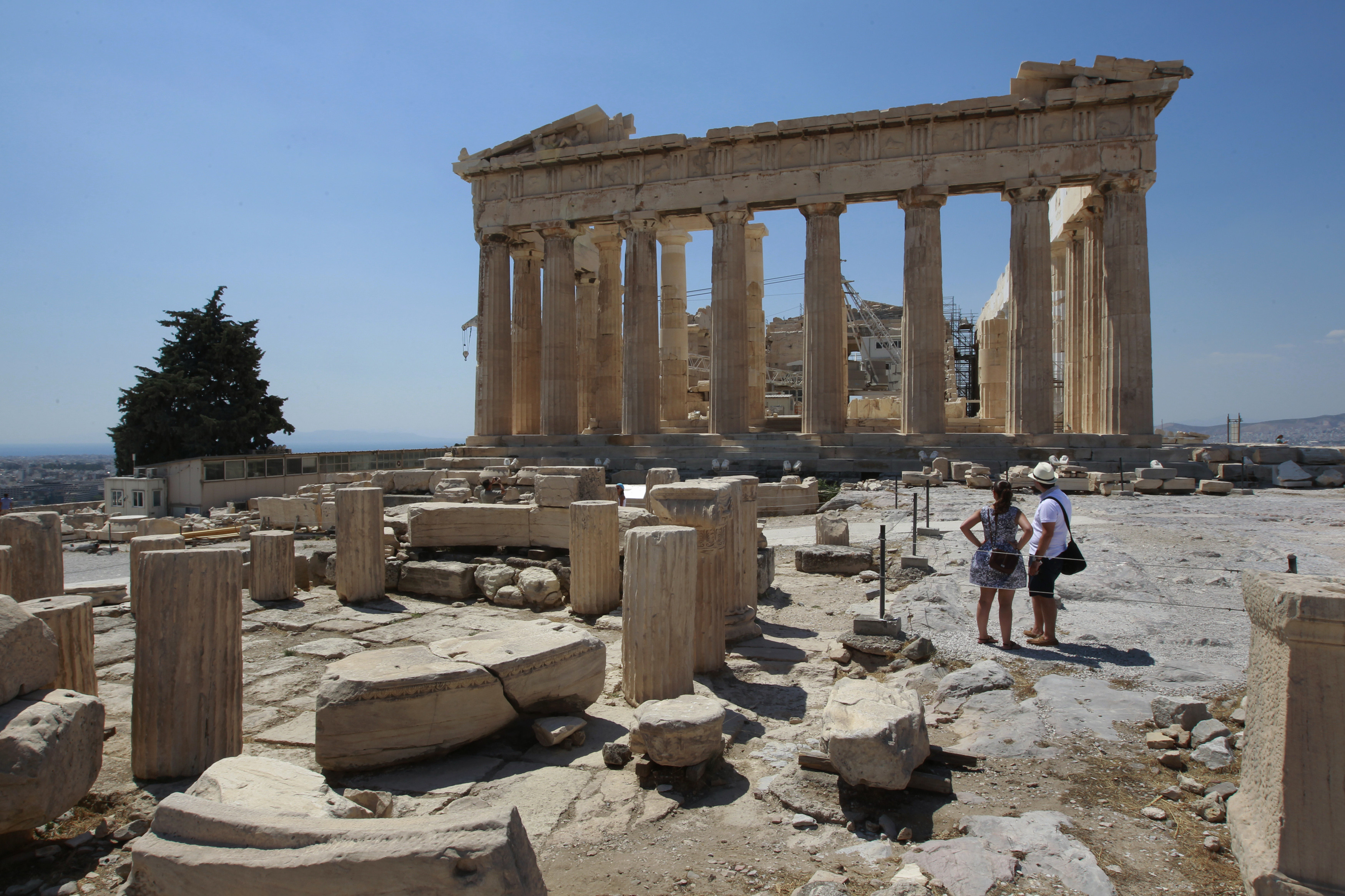 Ancient Athens decided that democracy would open up a better future.