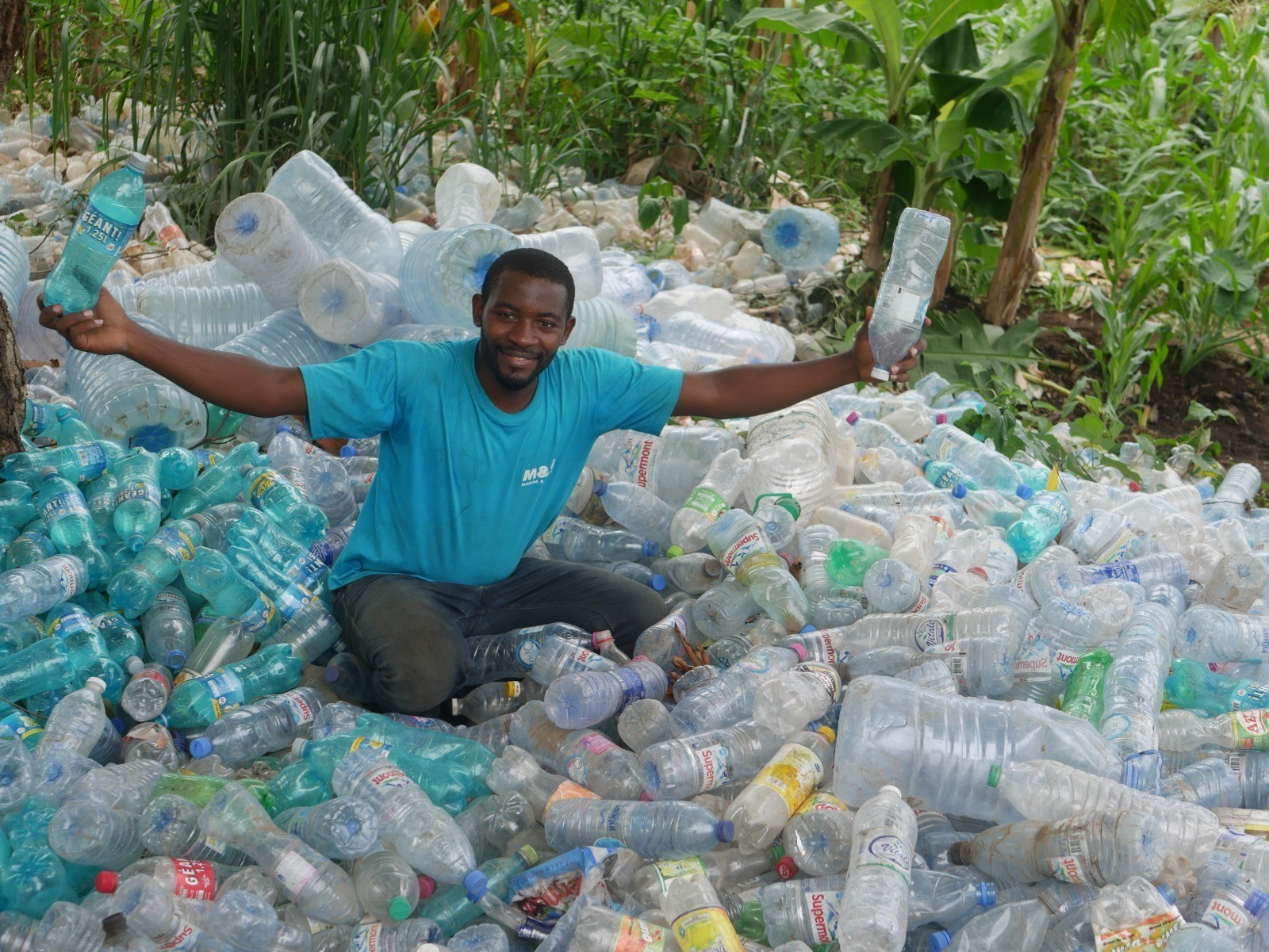 Q&A: The entrepreneur who is turning waste plastic bottles into boats