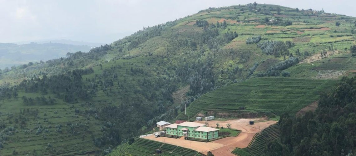 image of the collines of Burundi