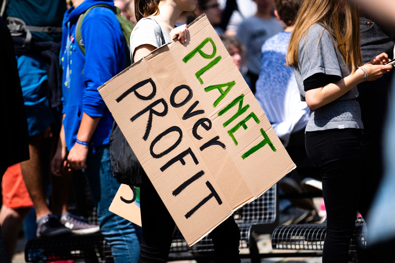 Fridays for future - global climate strike in Erlangen, Germany, on May 24 2019. Photo: Markus Spiske