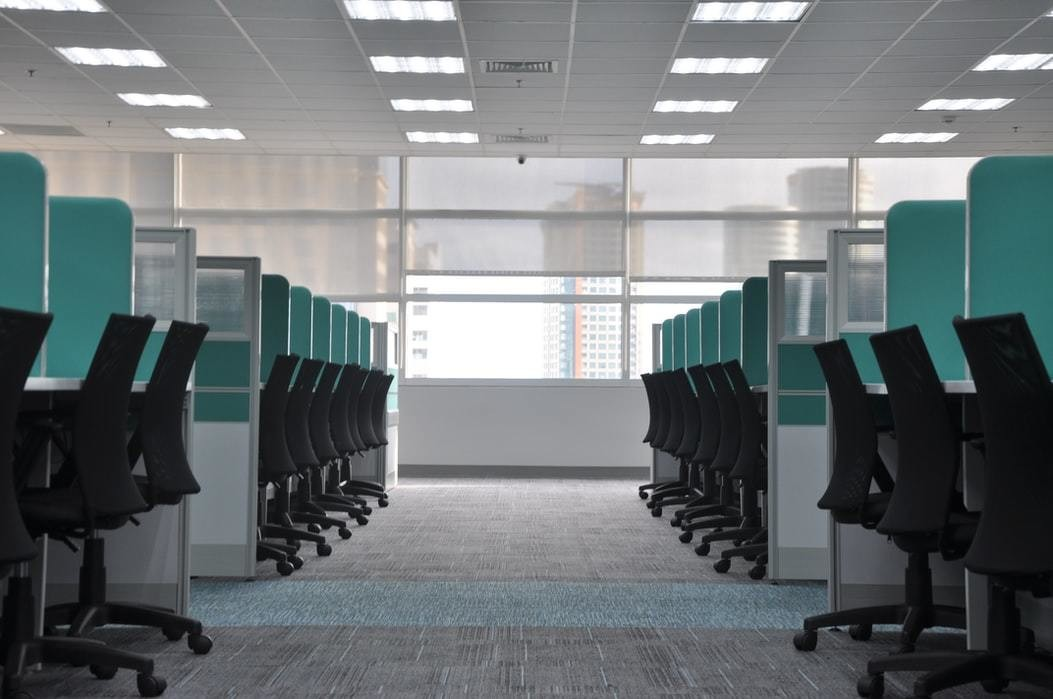 image of an empty office