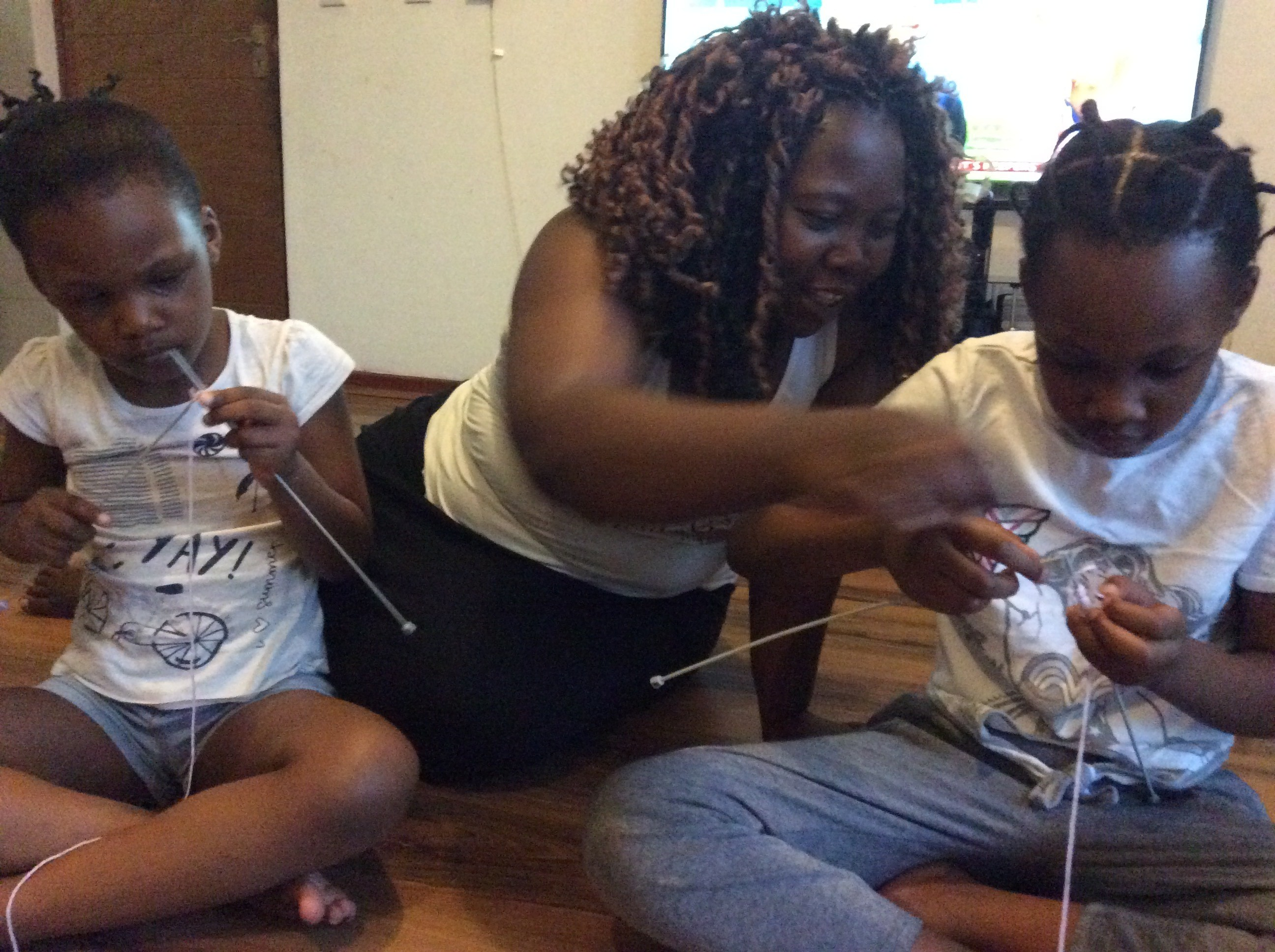 Knit2Code, a pioneering South African programme rooted in the similarities between knitting and coding