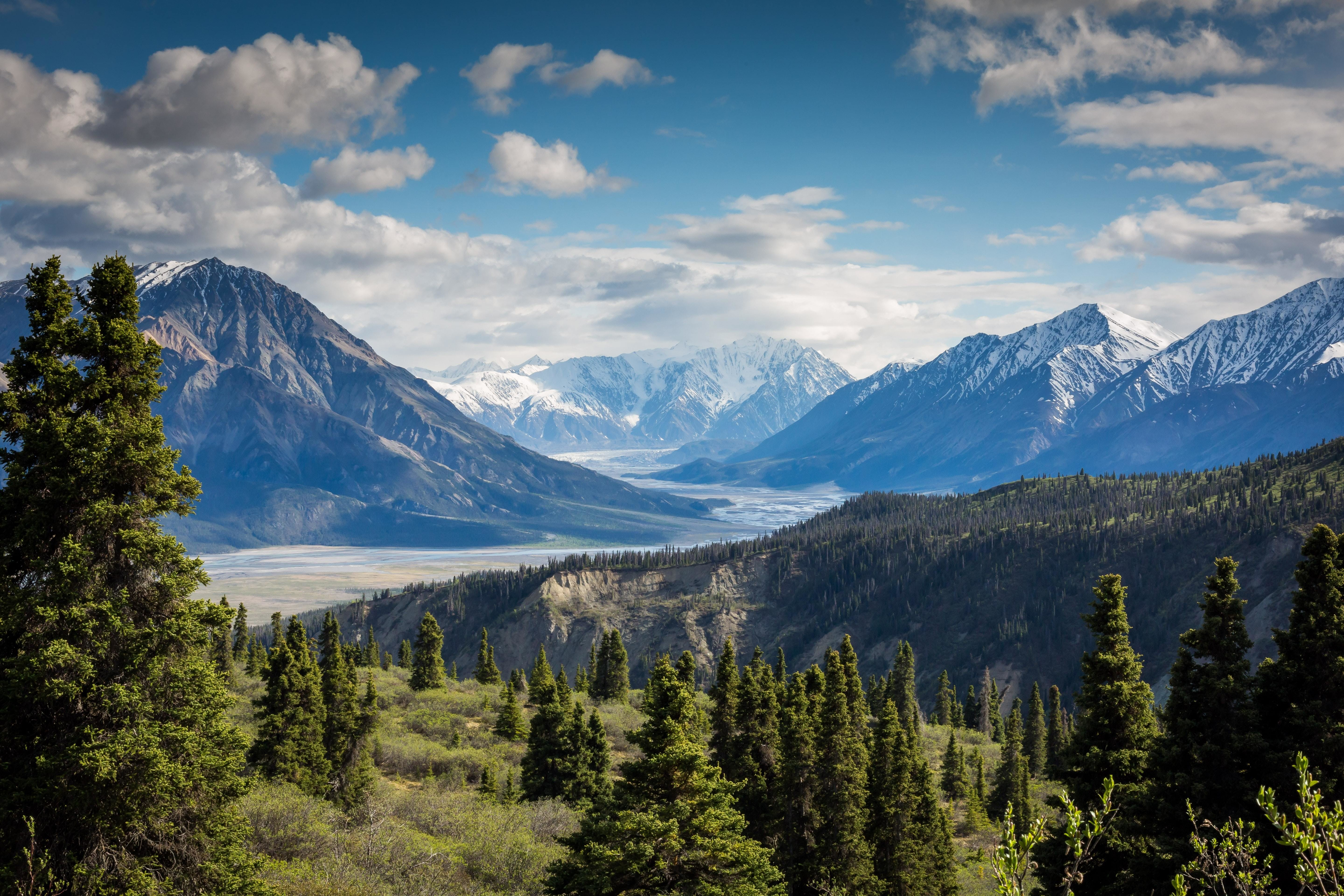 Kluane National Park and Reserve of Canada.