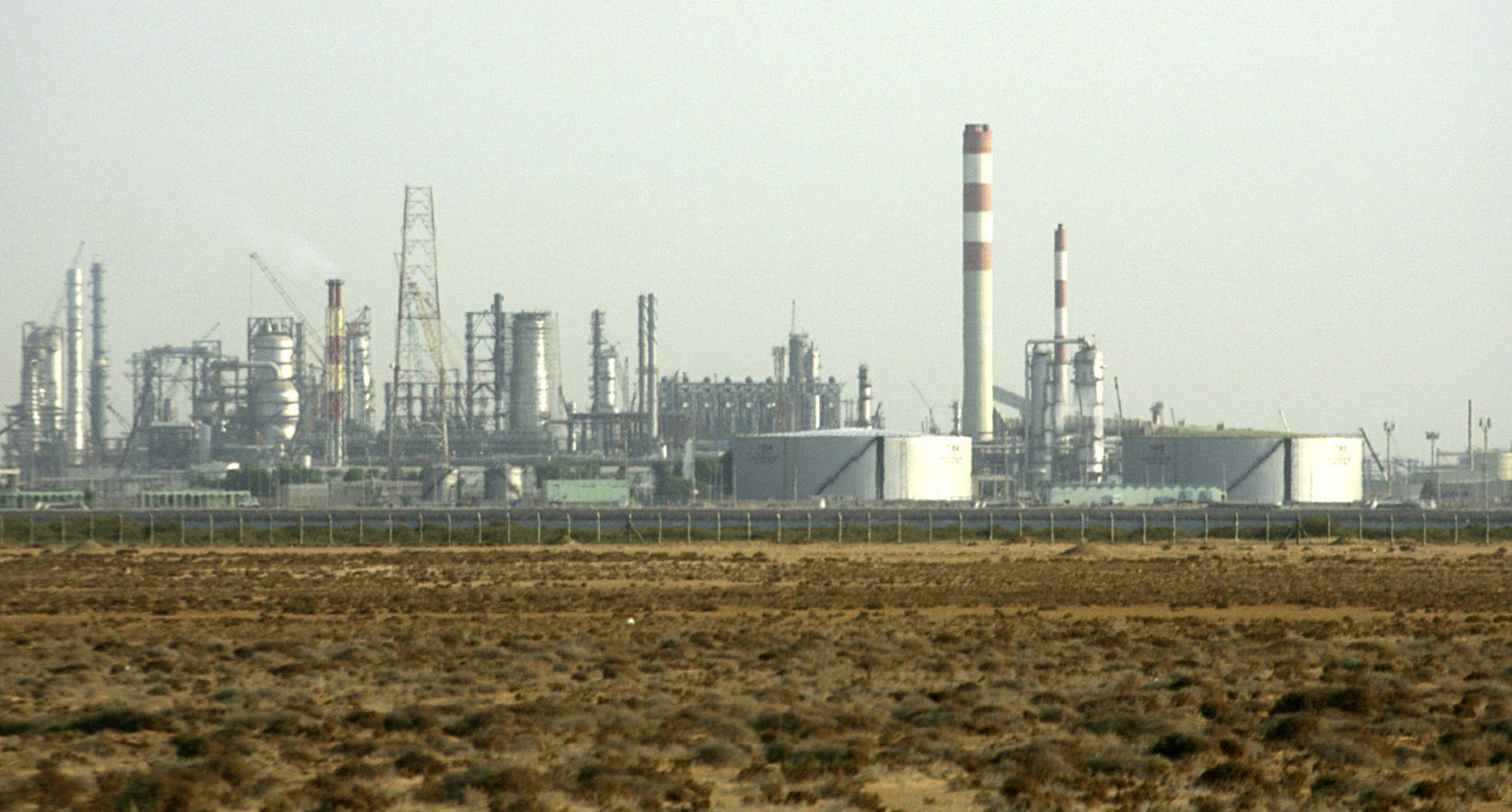 The Petro Rabigh plant in Saudi Arabia, targetted by a highly organized cyberattack in 2017.