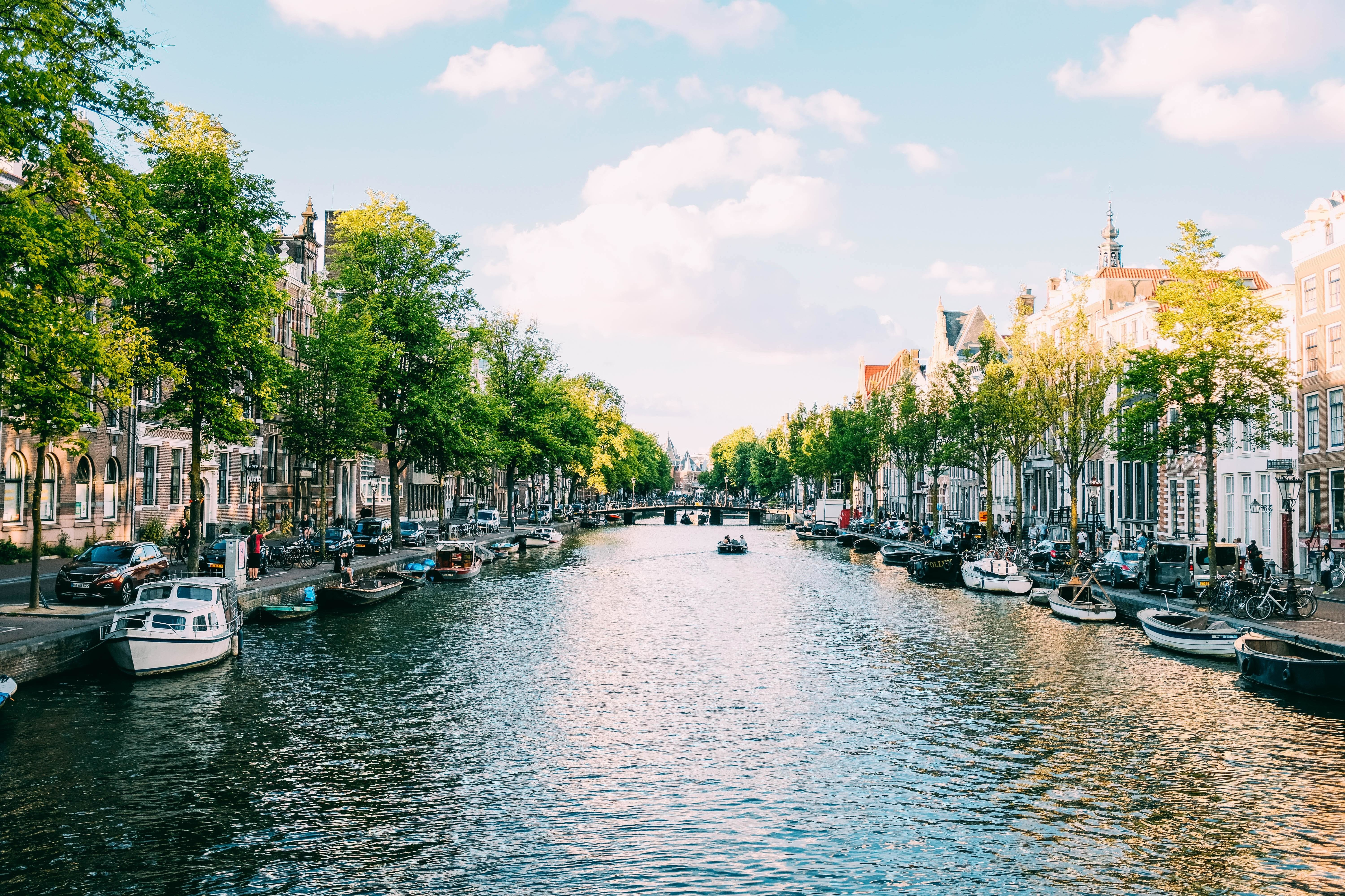 pictured here is Amsterdam, one of the Netherlands cities which is embracing the circular economy and rethinking its attitude towards water usage