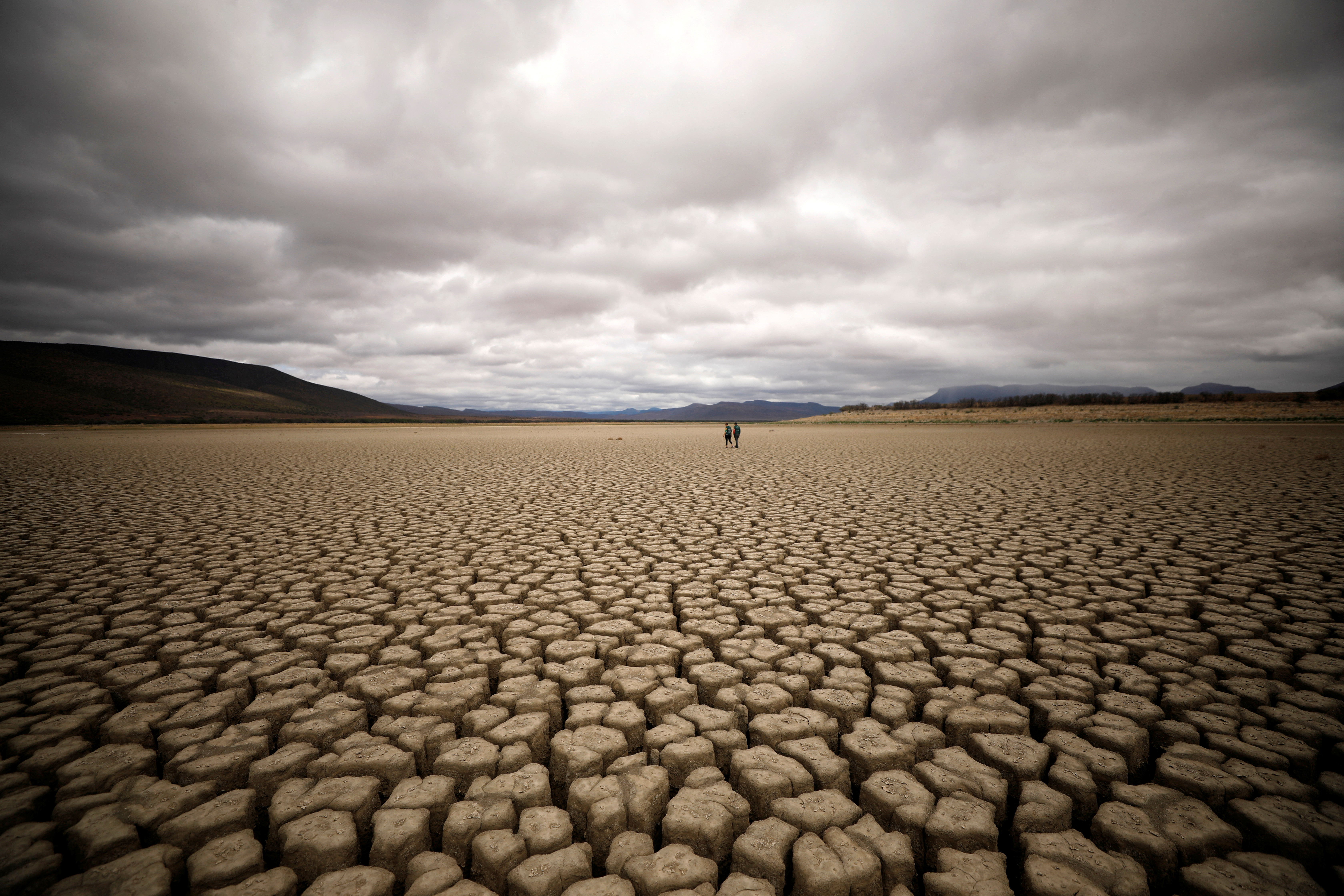 South Africa drought climate change global warming Day Zero