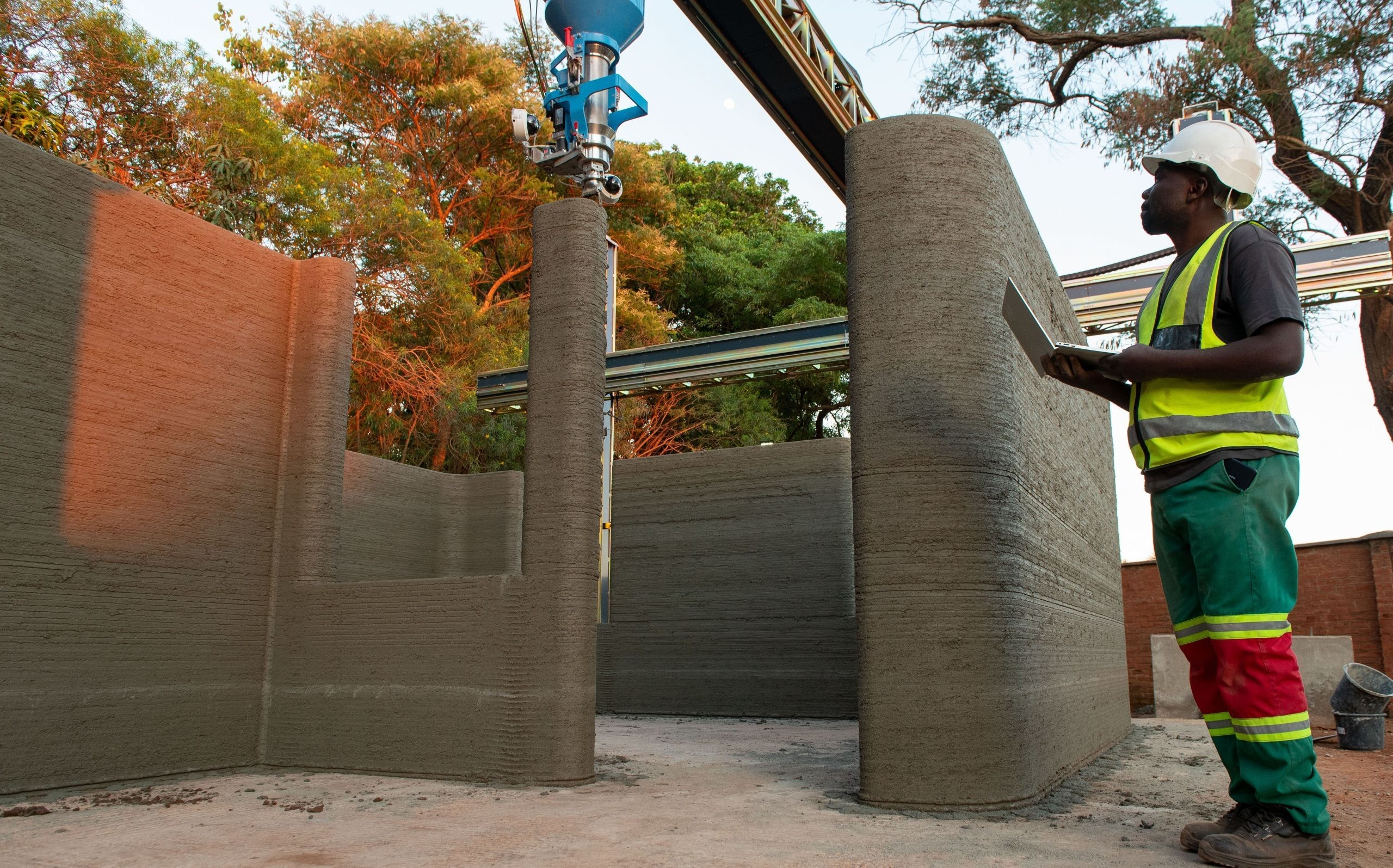 Africa's first 3D-printed affordable home