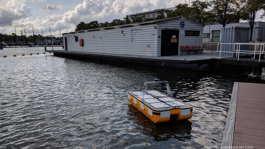 MIT CSAIL autonomous boats Amsterdam