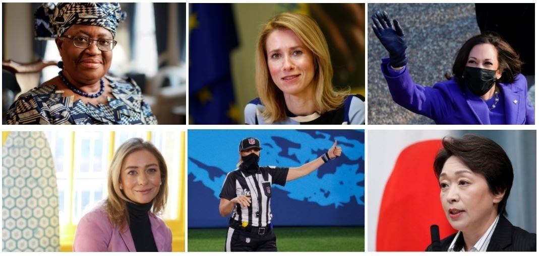 image of some of the world's influential women
