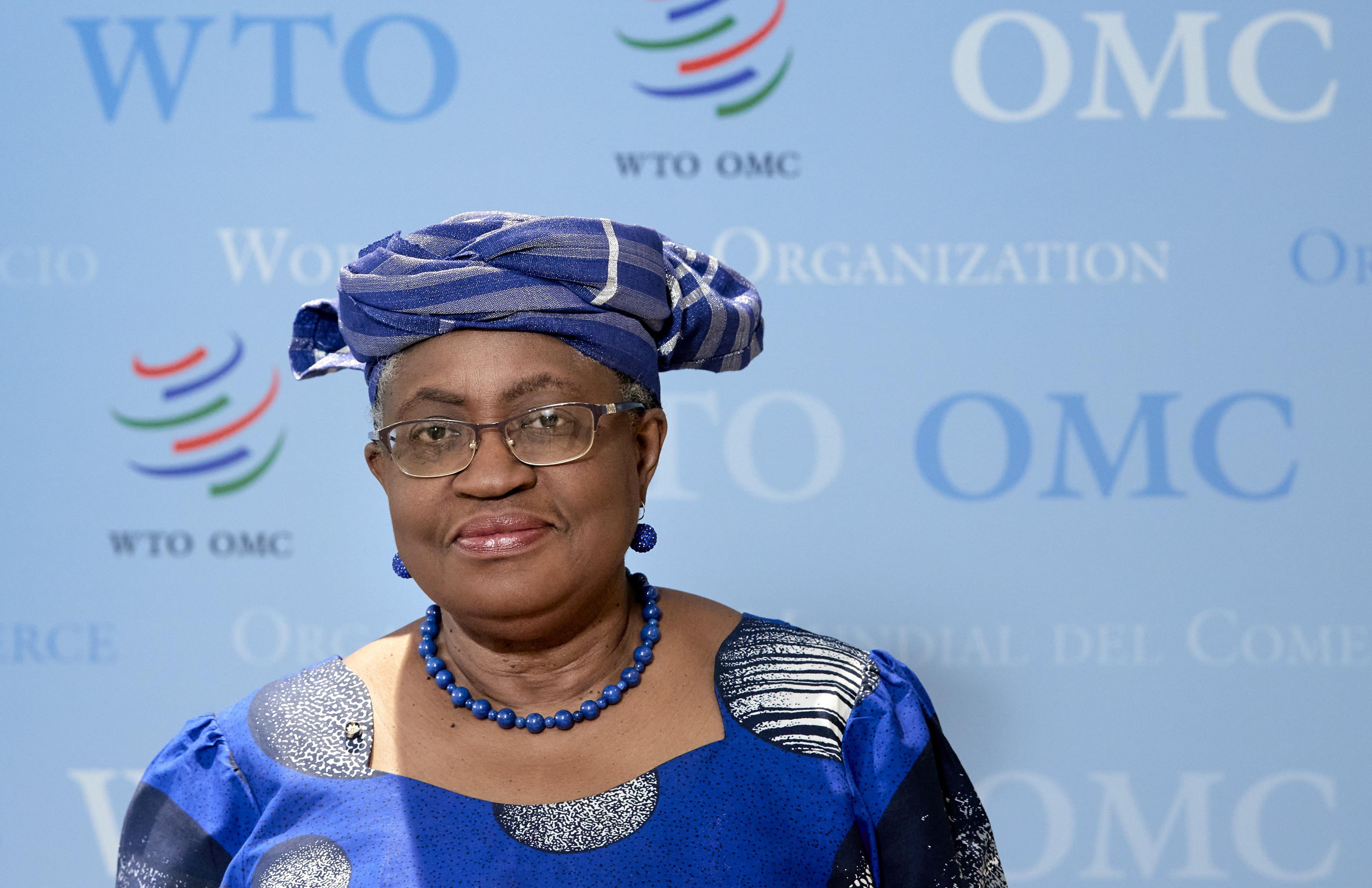 image of World Trade Organisation Director-General Ngozi Okonjo-Iweala