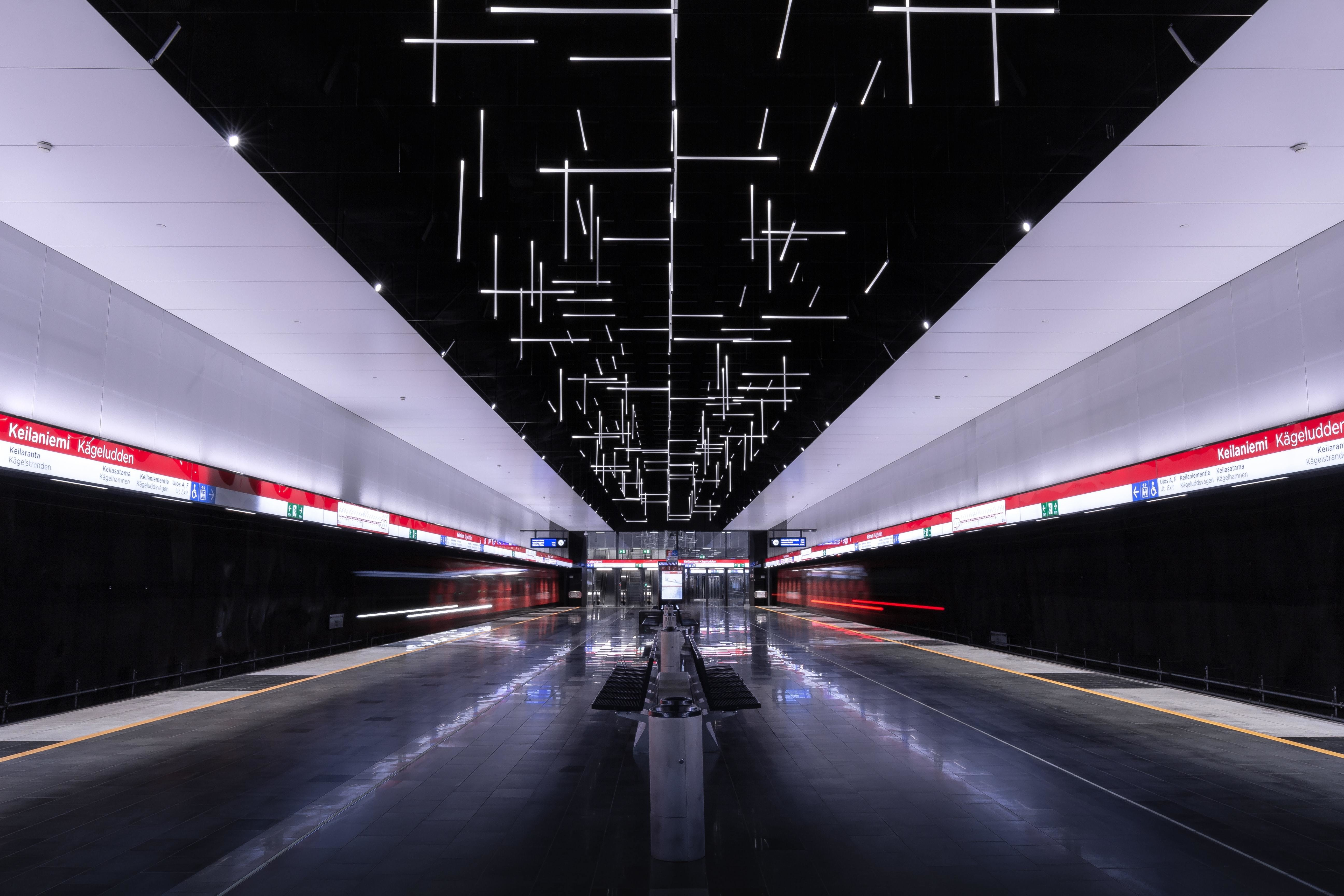 The Keilaniemi subway station in Espoo, Finland. 2021 will be big a big year for global infrastructure development.
