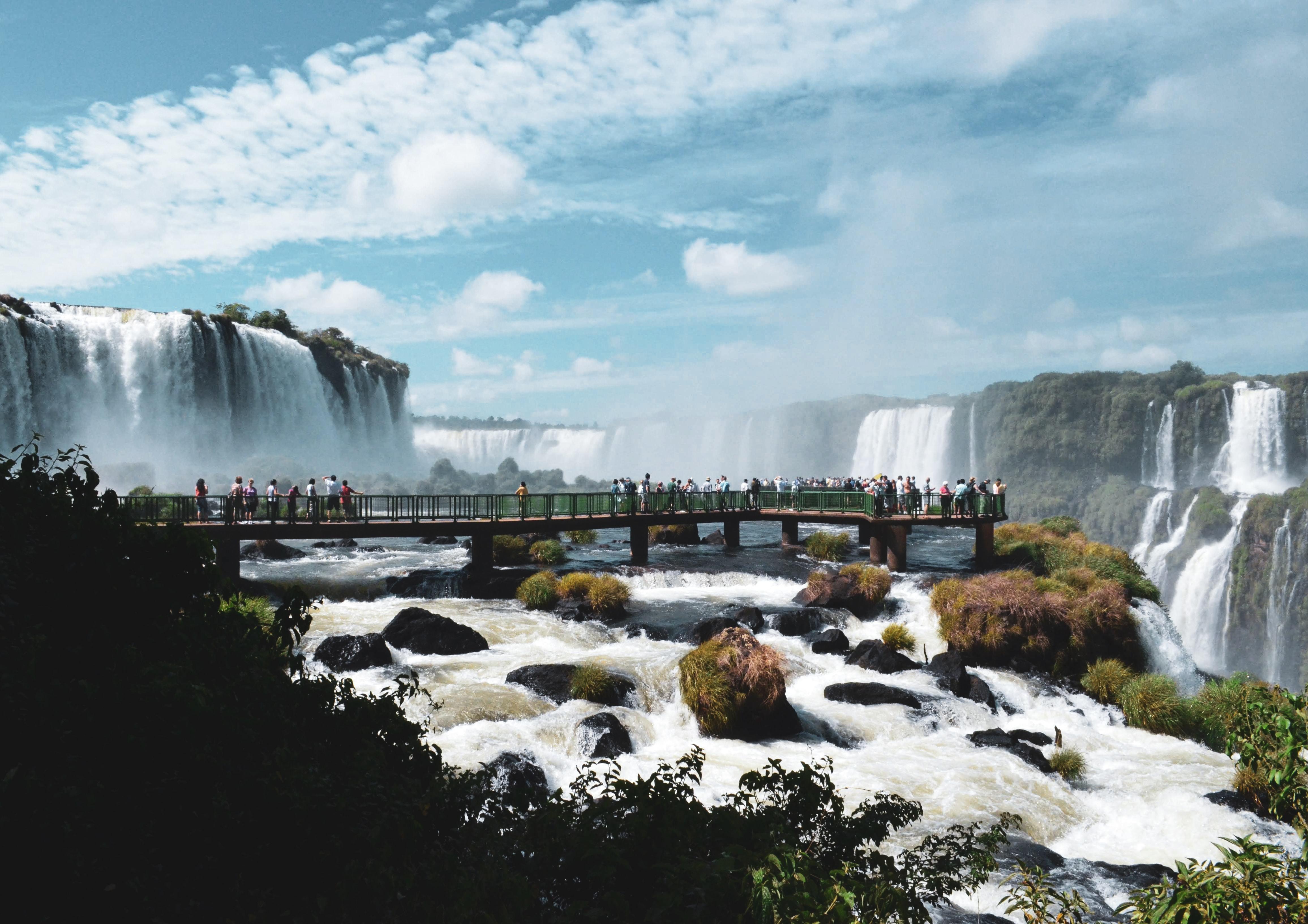 photo of waterfalls highlighting the precious resource #WorldWaterDay