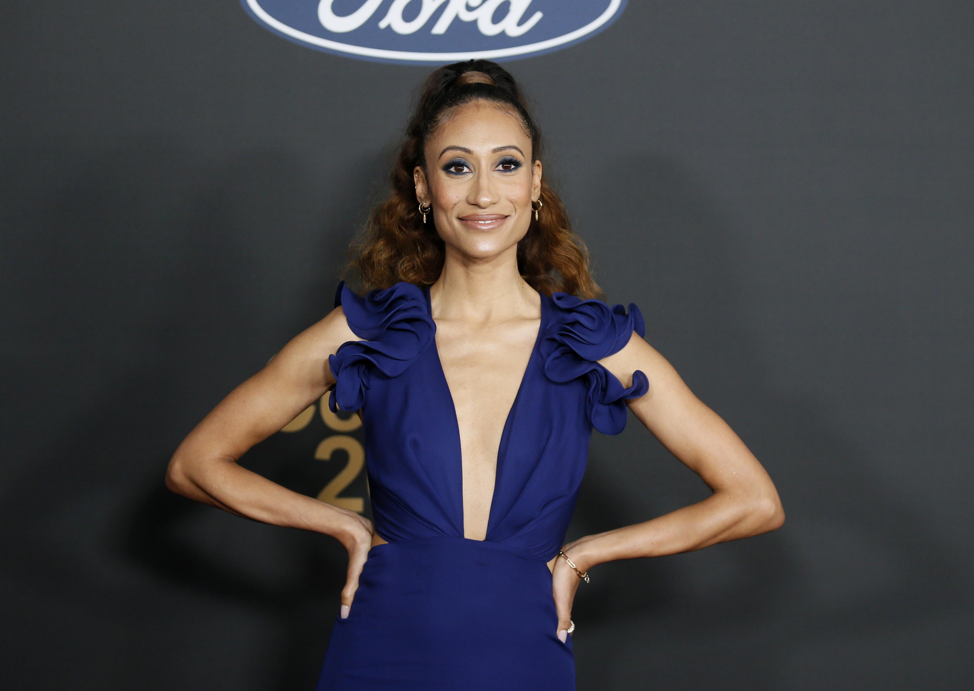 51st NAACP Image Awards - Arrivals - Pasadena, California, U.S., February 22, 2020 - Elaine Welteroth. REUTERS/Danny Moloshok - HP1EG2N04AYGH