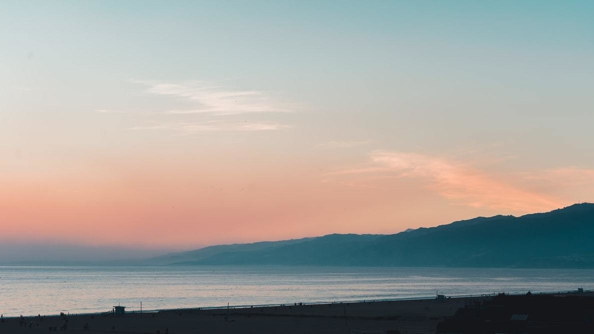 A photo of a beach in Santa Monica, United States.