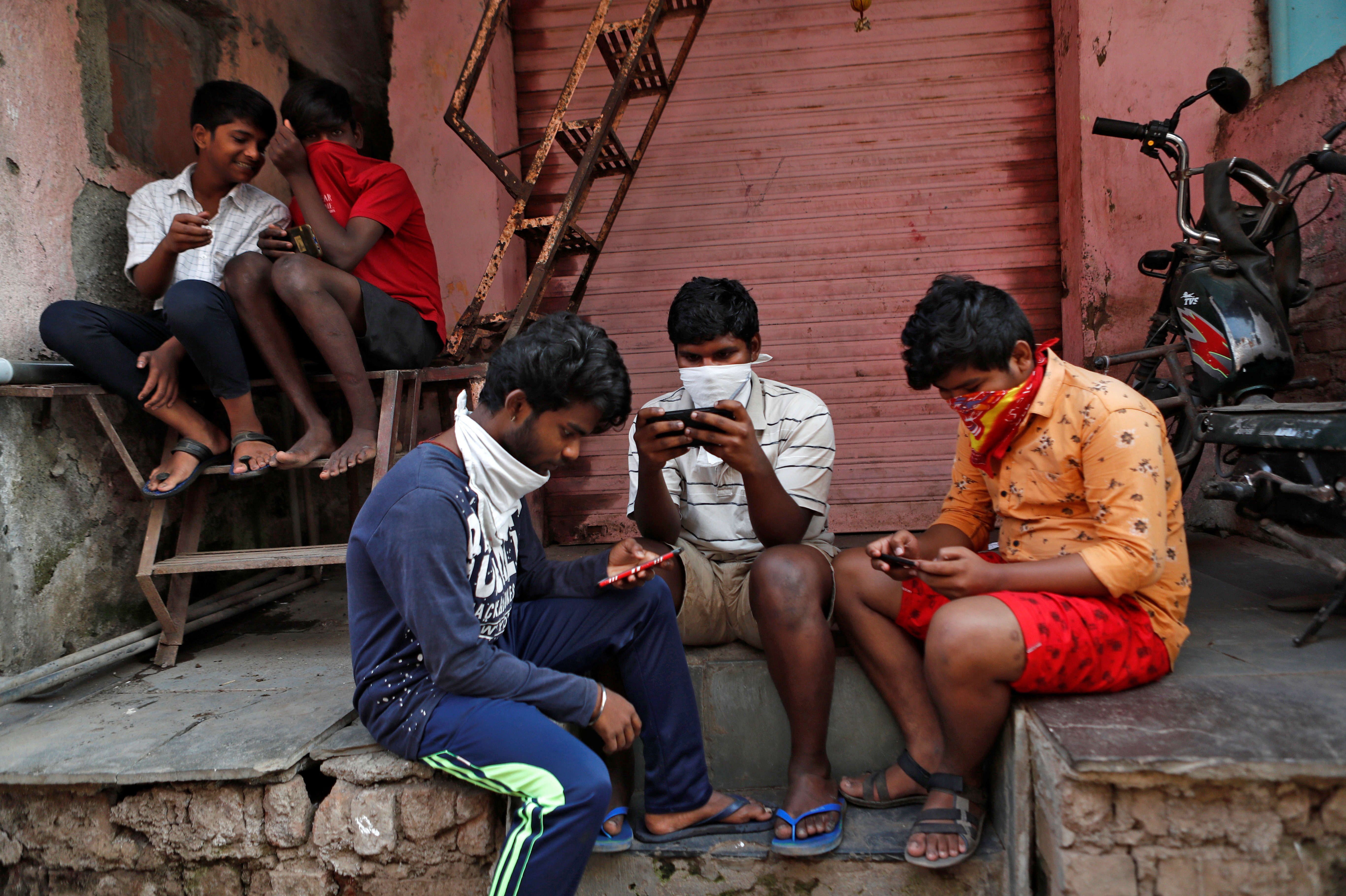 India has more than a billion mobile phone users.
