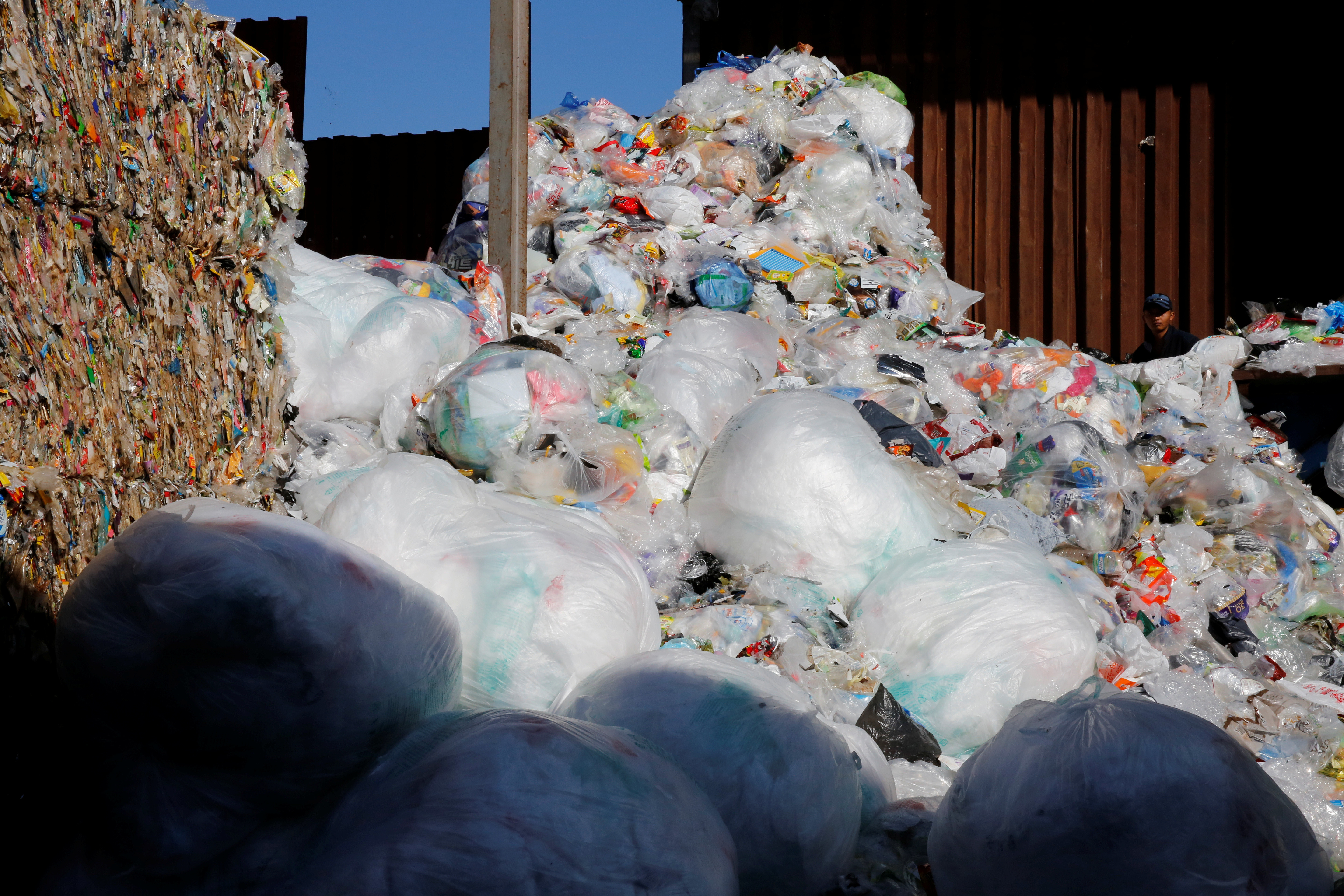 Plastic pollution recycling housing affordable homes