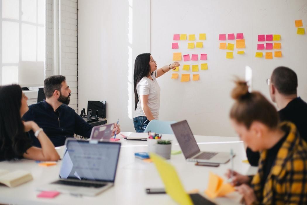 Business leaders results people team workforce