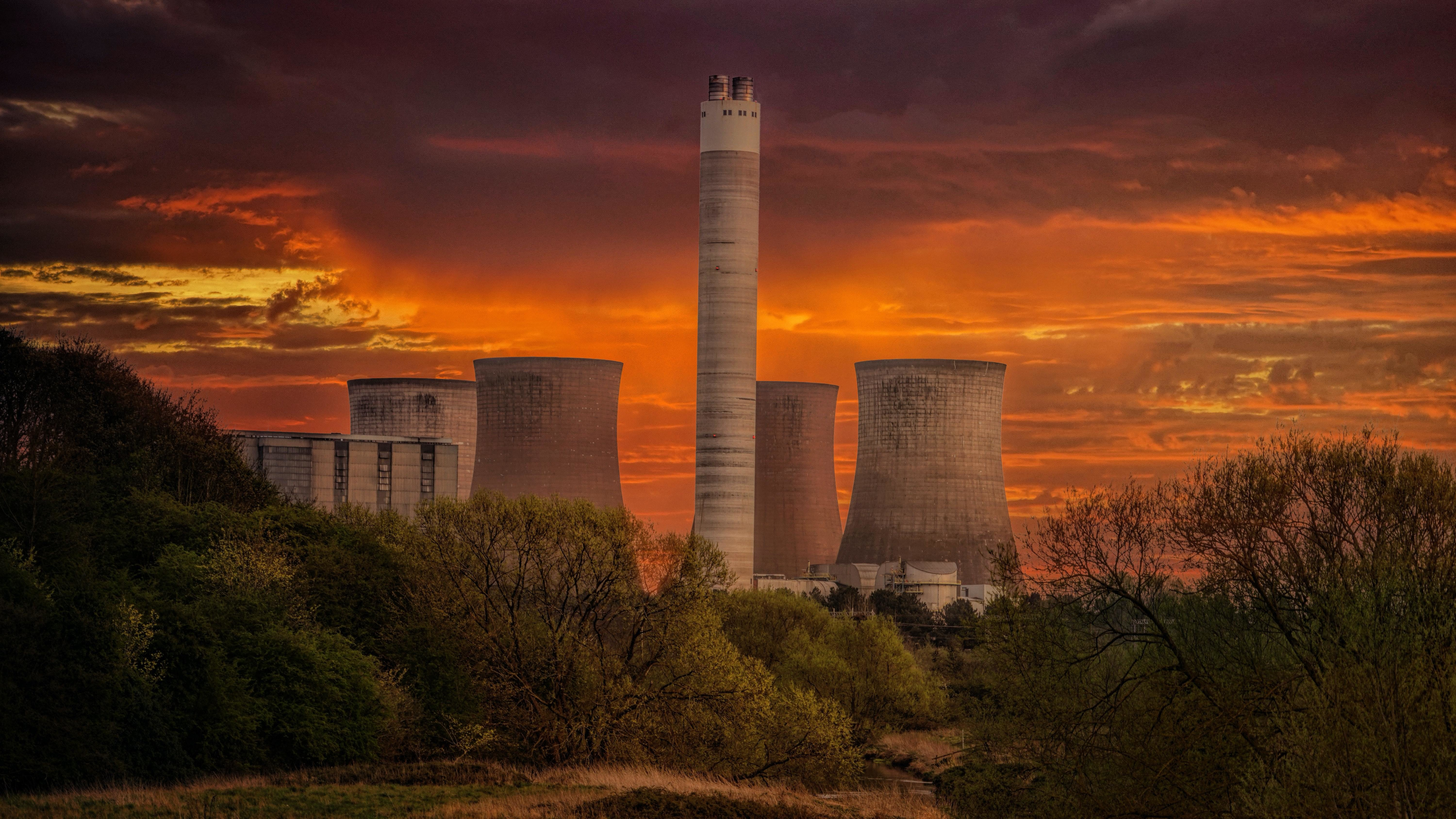 China will soon stop funding overseas coal power plants, like this one here, in a bid to significantly reduce CO2 emissions