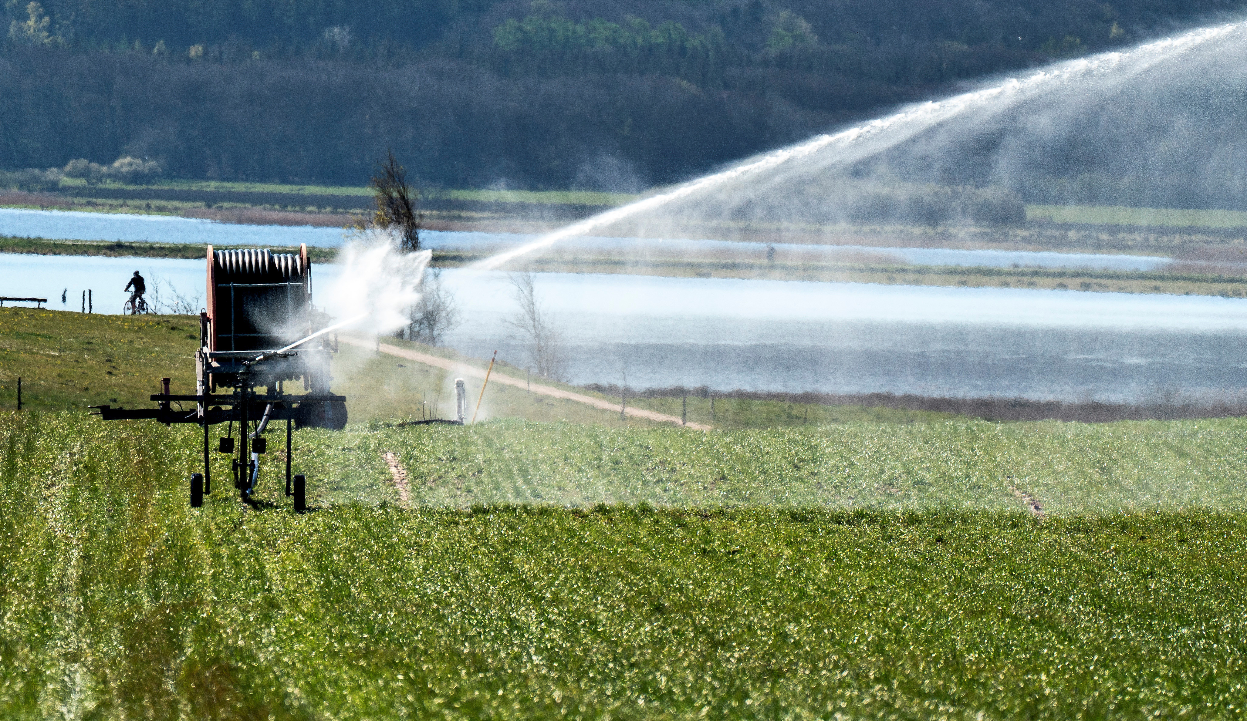 Agriculture is leading illegal water extraction across the world.