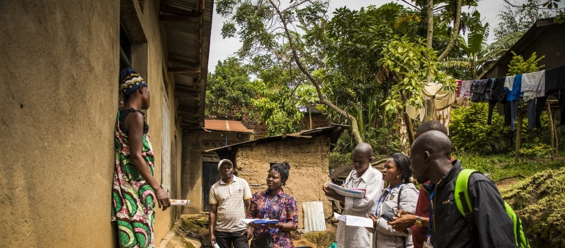 コンゴ民主共和国:地域社会の代表者による戸別訪問